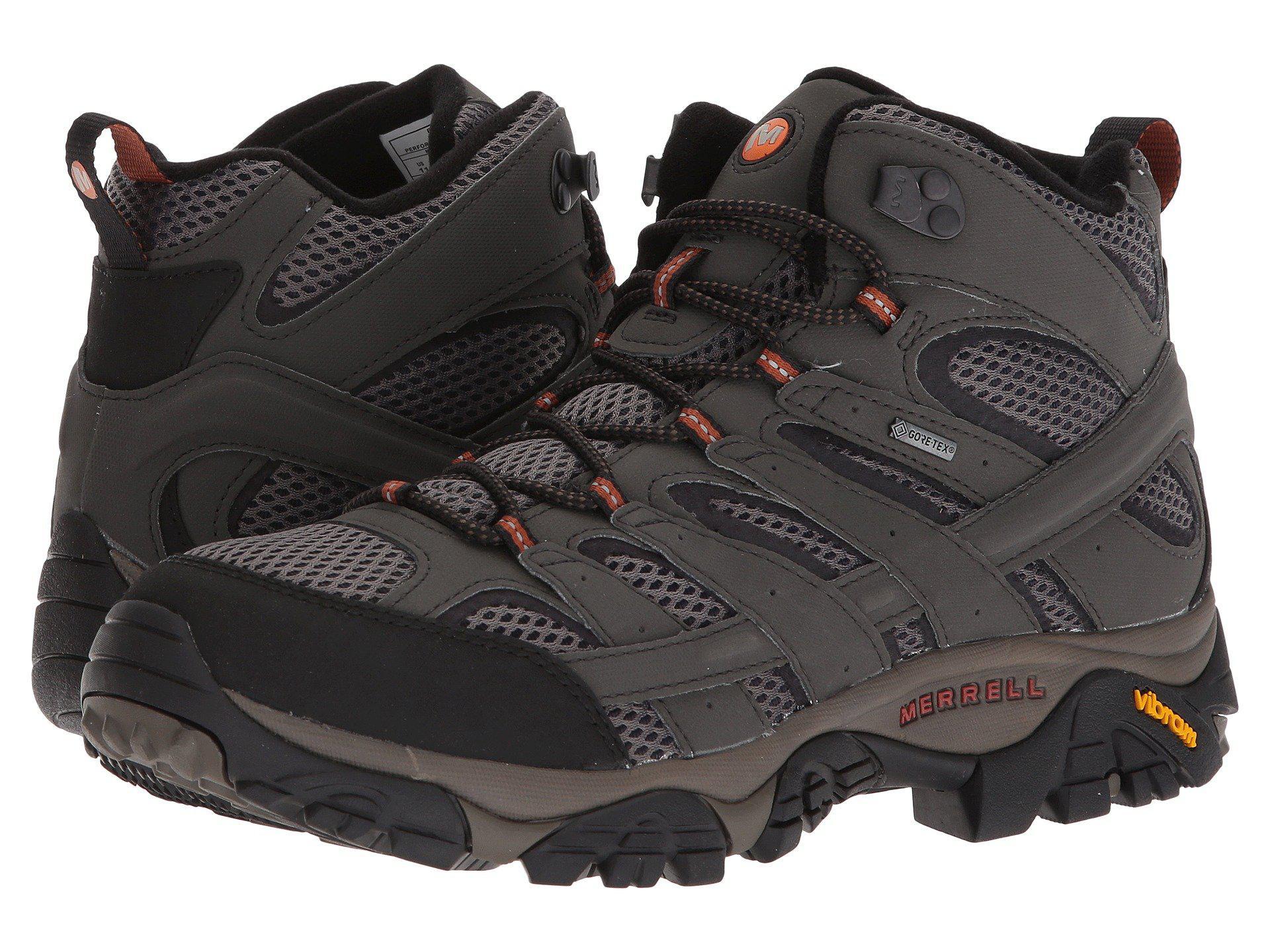 6b43ea0cc1636 ... Moab 2 Mid Gtx (earth) Men's Shoes for Men - Lyst. View fullscreen