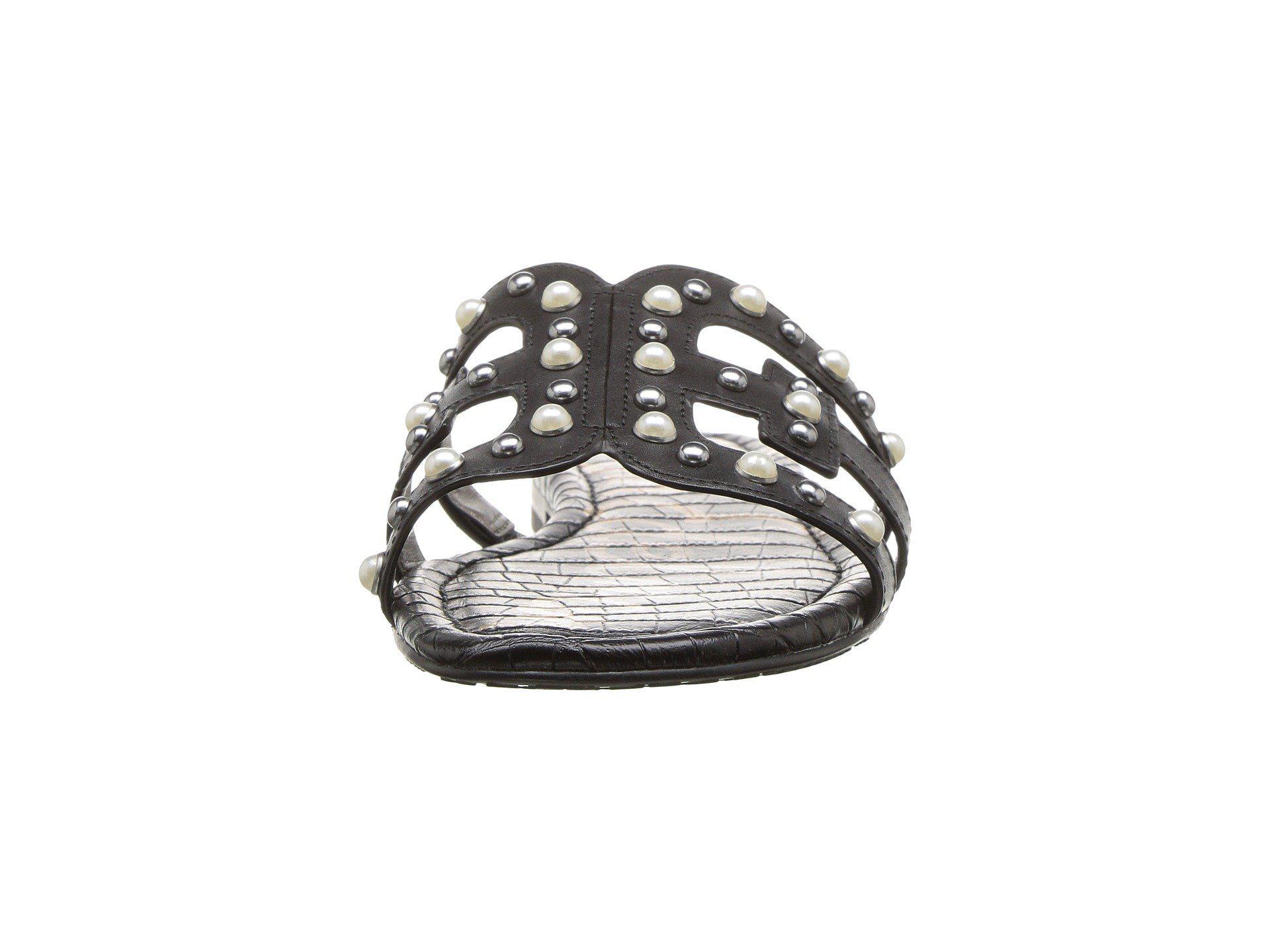 c06ad405f9e6a Sam Edelman - Bay 2 (black Vaquero Saddle Leather) Women s Sandals - Lyst.  View fullscreen
