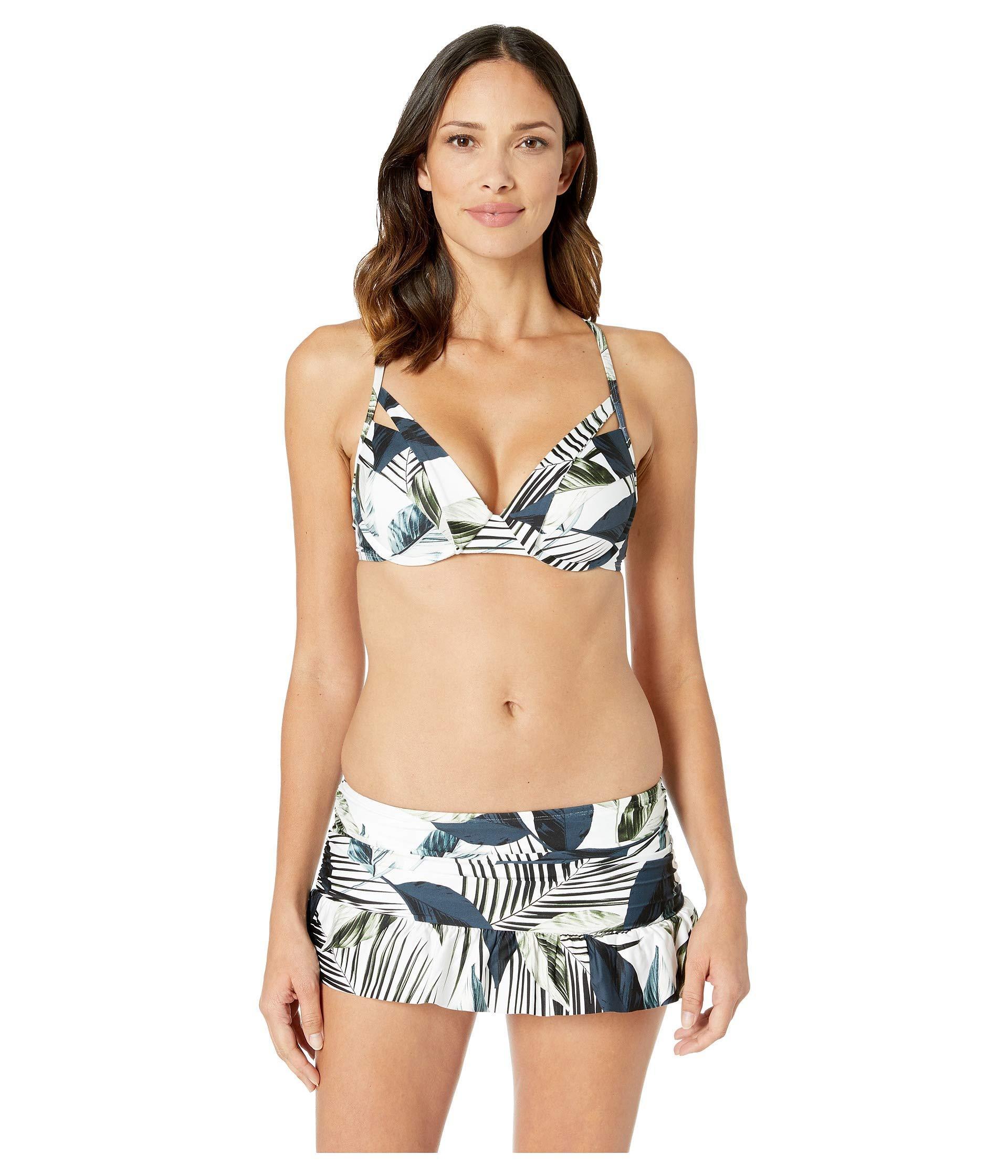 8e586830f4573 La Blanca - Moment Of Zen Underwire Push-up Top (blue) Women s Swimwear.  View fullscreen