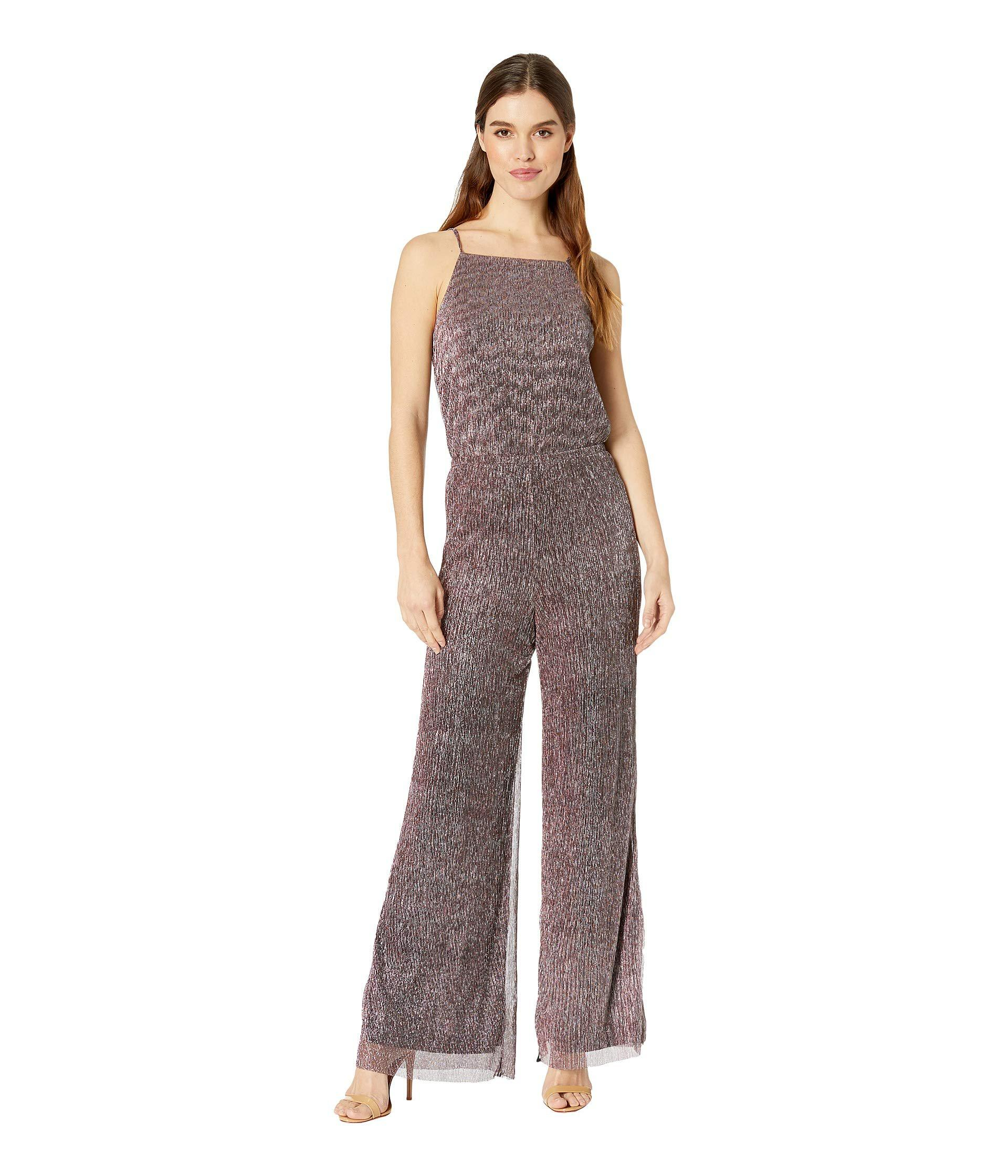8b203db0c6d8 Lyst cupcakes and cashmere campell metallic shimmer jumpsuit jpg 1920x2240 Metallic  rompers for women