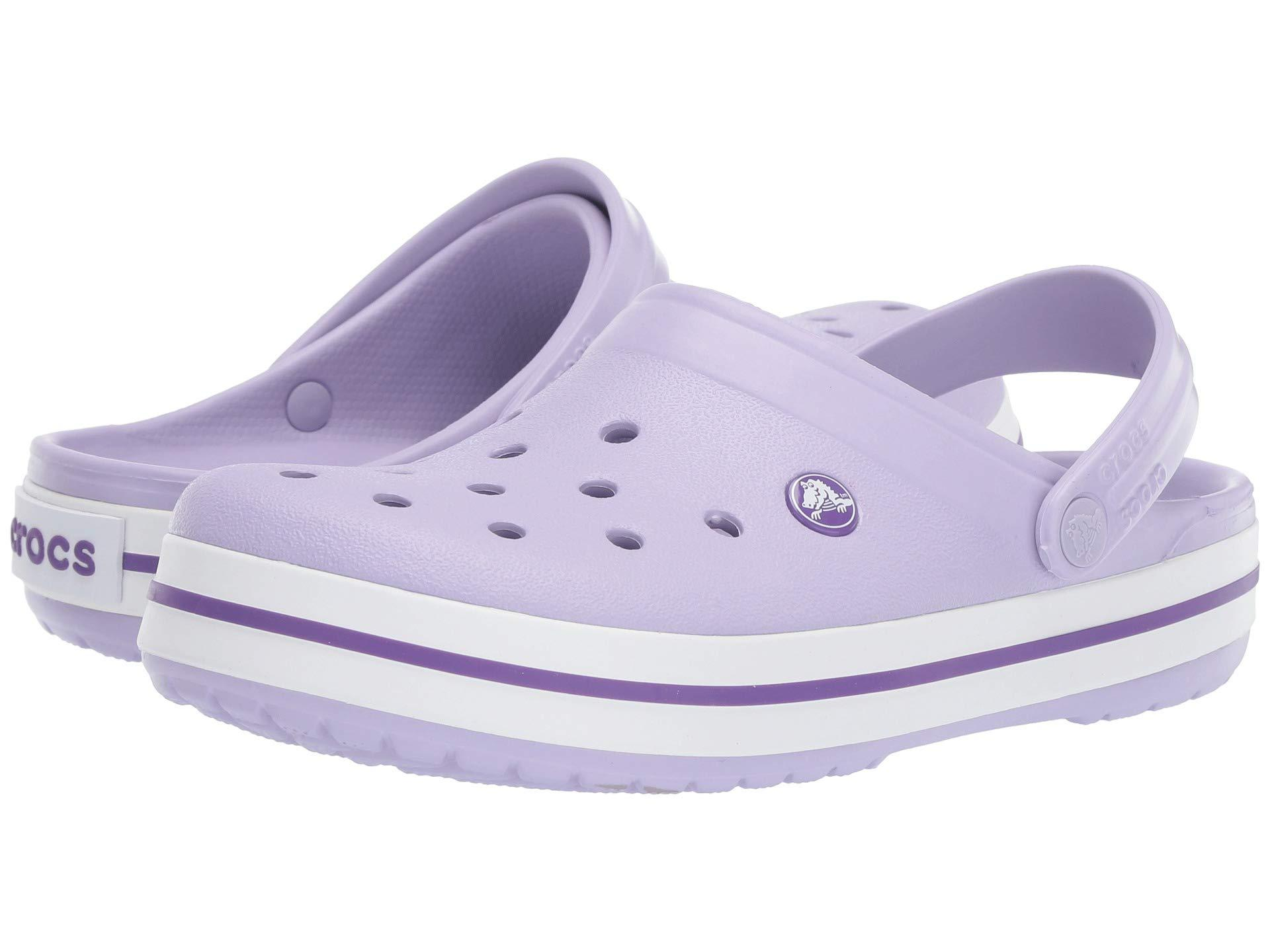41afd209f Lyst - Crocs™ Unisex Adults  Crocband U Clogs in Purple