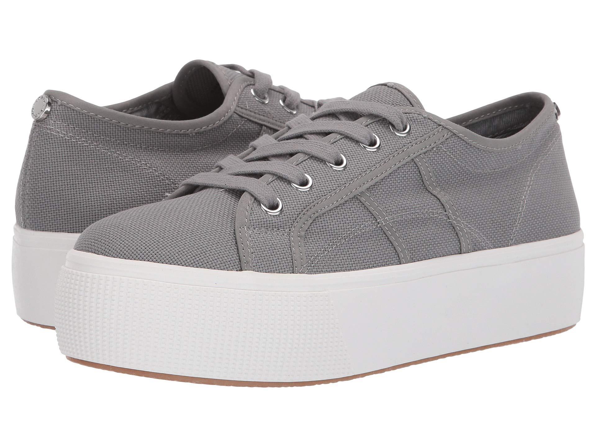 d0139dda2ed Lyst - Steve Madden Emmi Platform Sneaker (grey) Women s Shoes in Gray