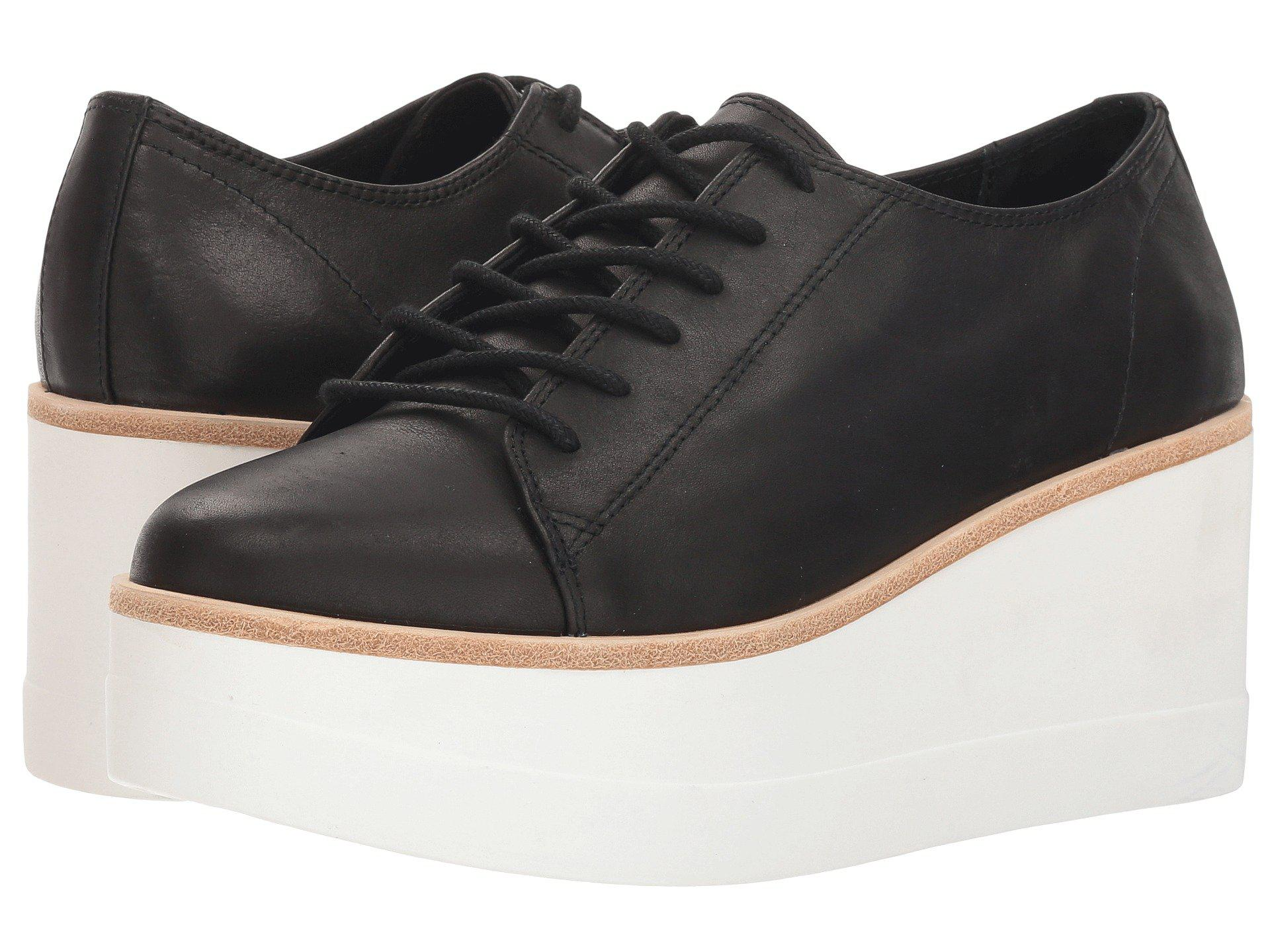 7b8a8449f8c Lyst - Steve Madden Kimber (black Leather) Women s Shoes in Black