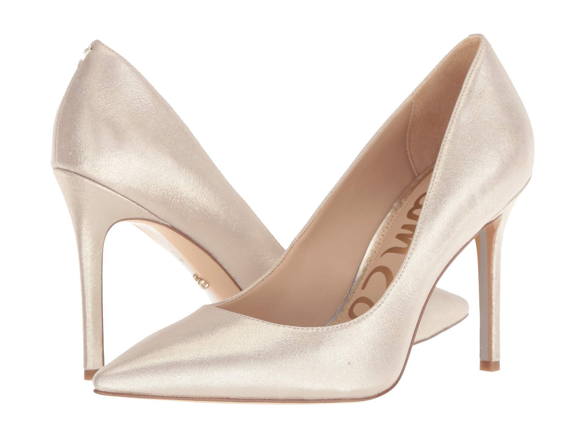 05c26241010 Lyst - Sam Edelman Hazel (gold Degrade Crystal Patent) Women s Shoes