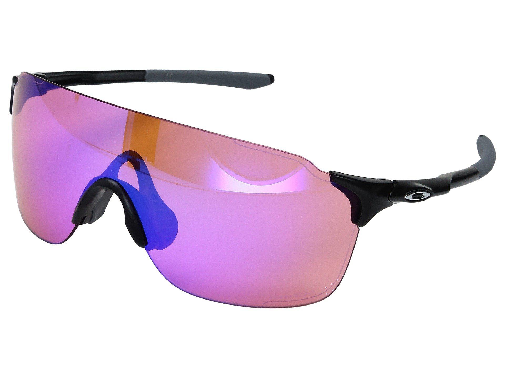 402acadc76066 Oakley. Women s Evzero Stride (polished Black W  Prizm Daily Polarized)  Fashion Sunglasses