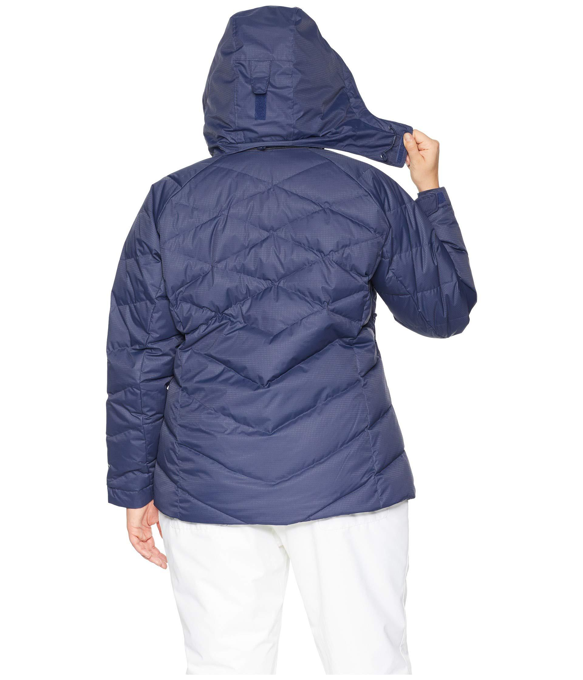 4db38031fe8d6 Lyst - Columbia Plus Size Lay D Downtm Ii Jacket (nocturnal Dobby ...