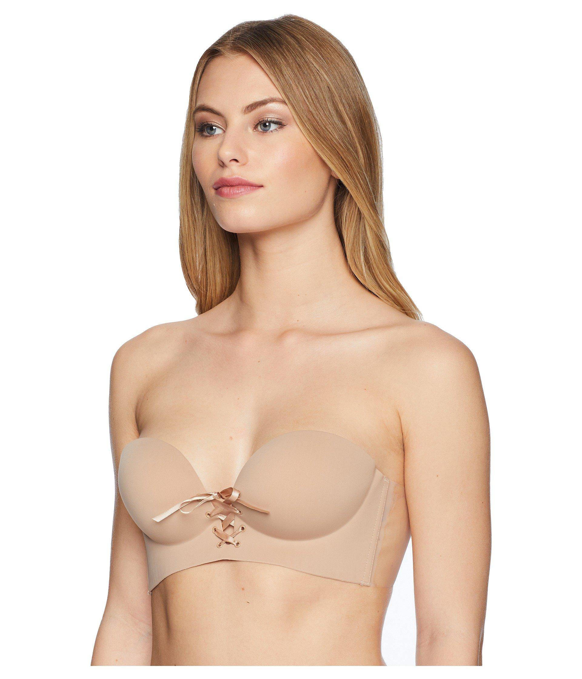 1de5257852 Fashion Forms. Natural U Plunge Cleavage Enhancement Backless Strapless Bra  ...