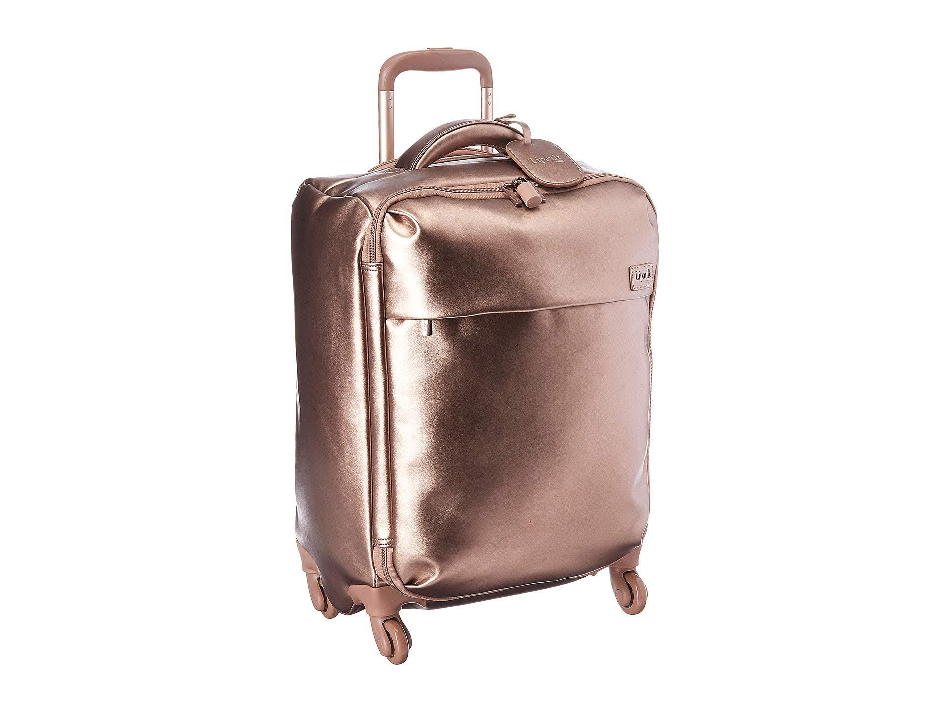 e58a74220 Lyst - Lipault 22 Miss Plume Spinner (titanium) Luggage in Pink
