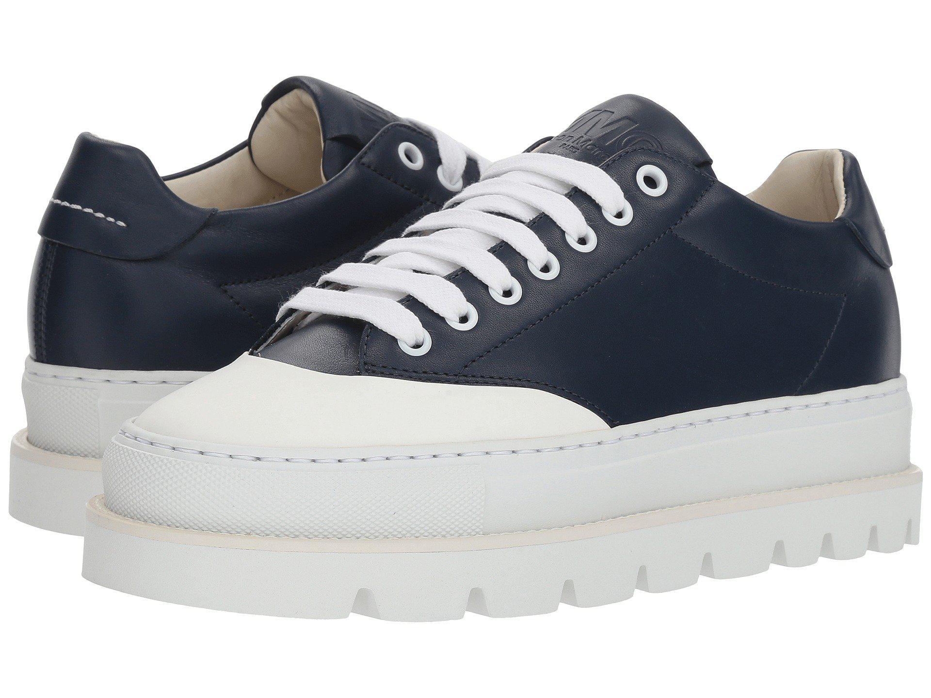 MM6 Maison Margiela Cap Toe Platform Sneaker ZlOOyZ