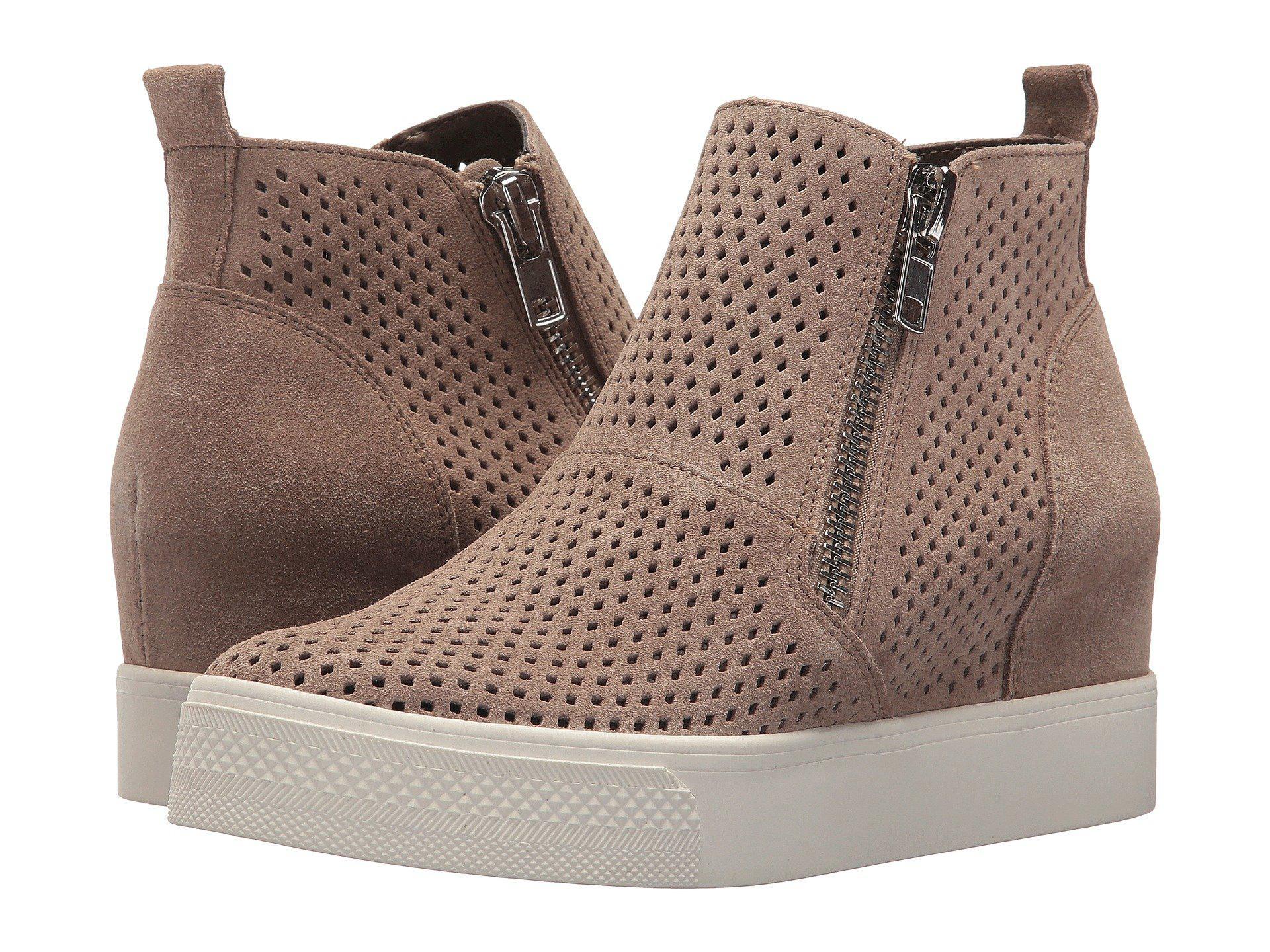 49dad7774e0 Lyst - Steve Madden Wedgie-p Sneaker (black) Women s Shoes in Brown