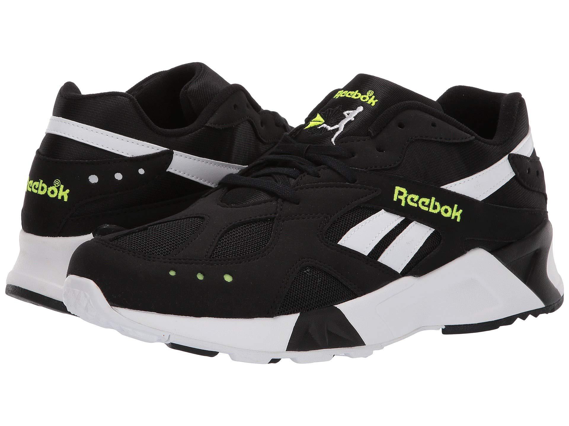0b3c07e768debf Reebok - Aztrek (black white solar Yellow) Athletic Shoes for Men -. View  fullscreen