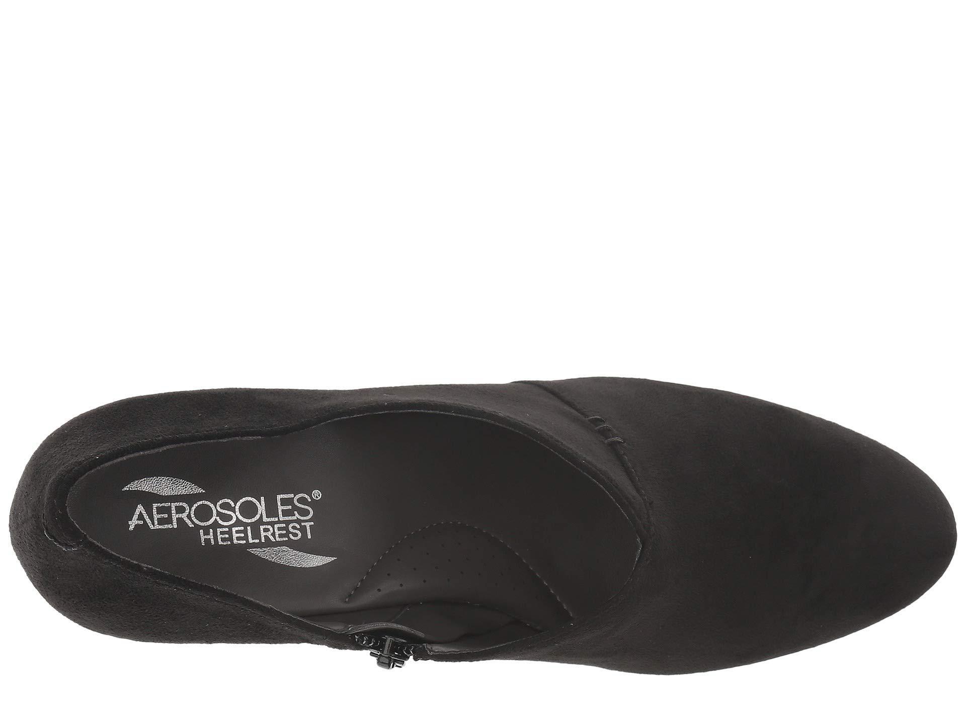 58c16141388 Aerosoles - Nametag (black Fabric) High Heels - Lyst. View fullscreen