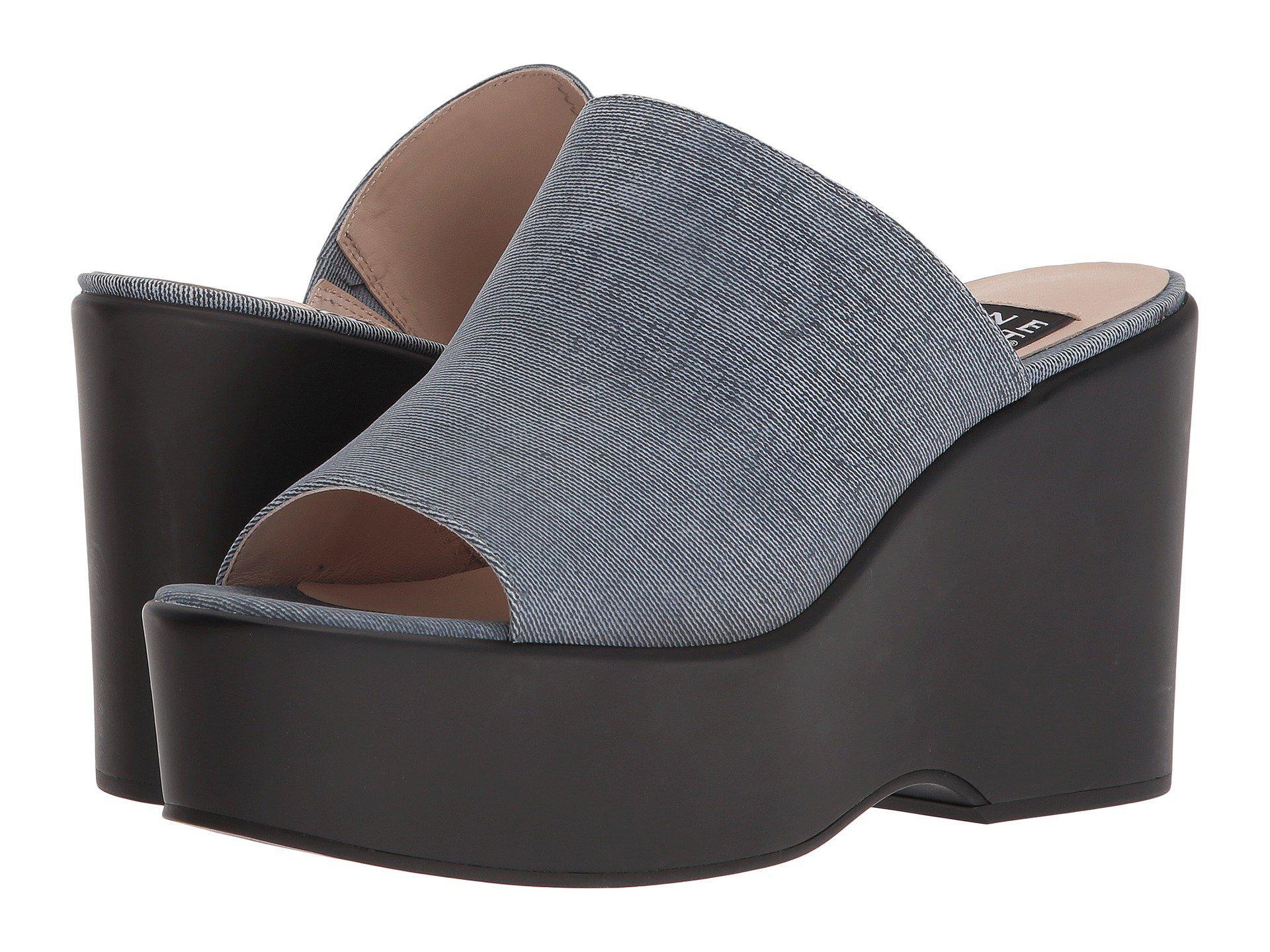 Nine West Tomo 40th Anniversary Platform Slide Sandal yxHWHVlc5q