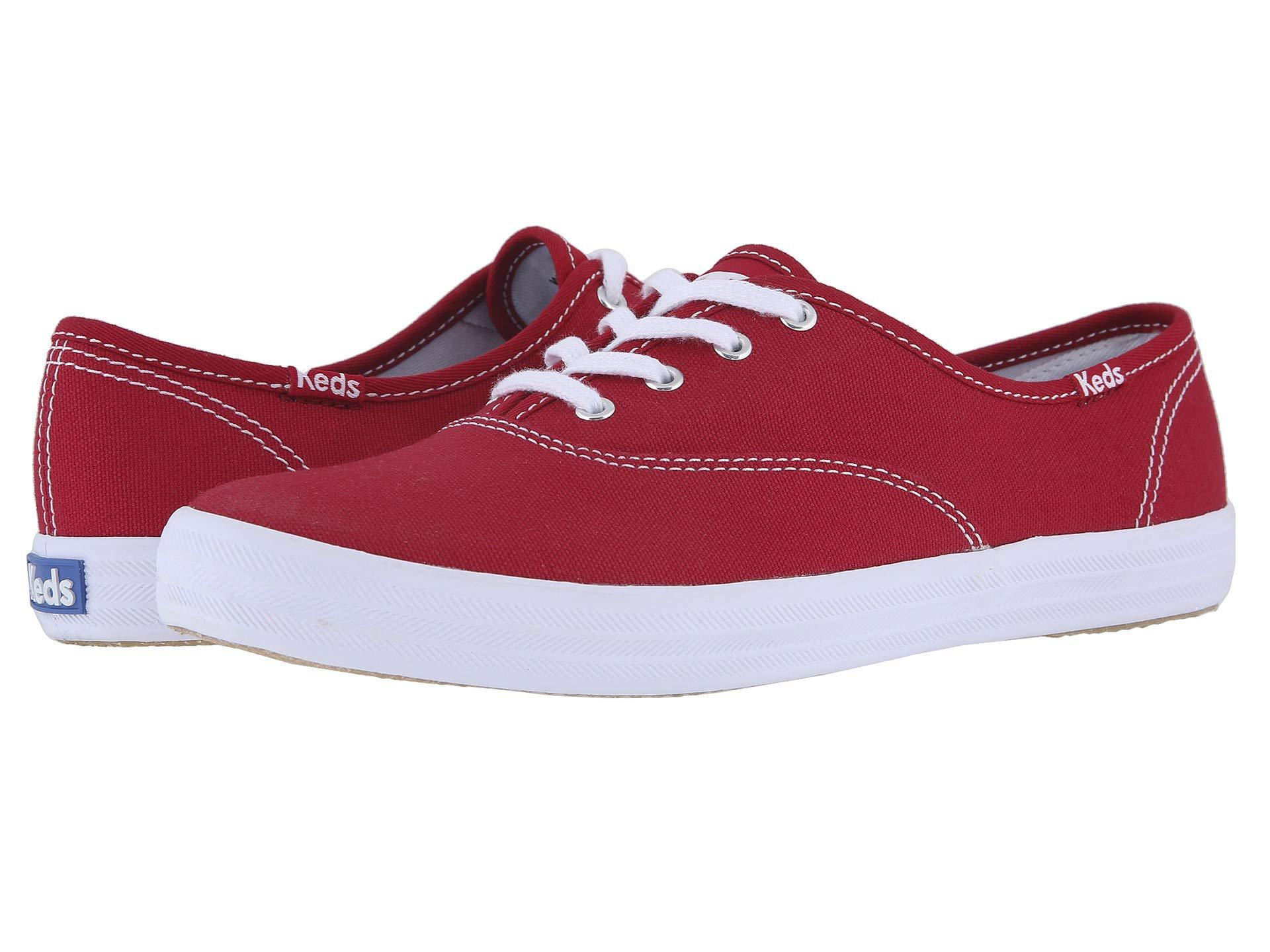 cb64febe6712df Lyst - Keds Women s Champion Originals in Red - Save 58%