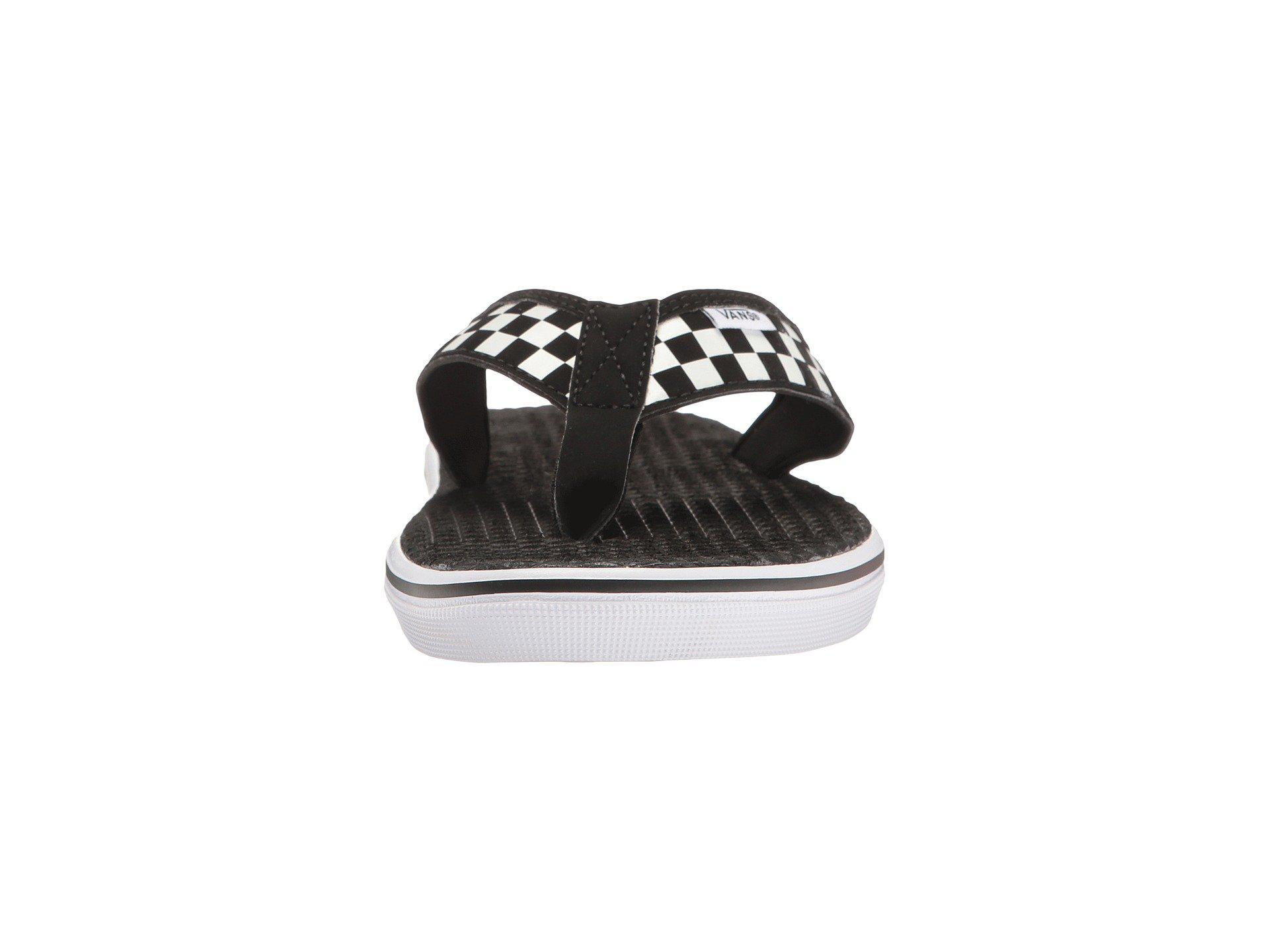 bb6226af31545b Vans - La Costa Lite ((checkerboard) Black white) Men s Sandals for. View  fullscreen