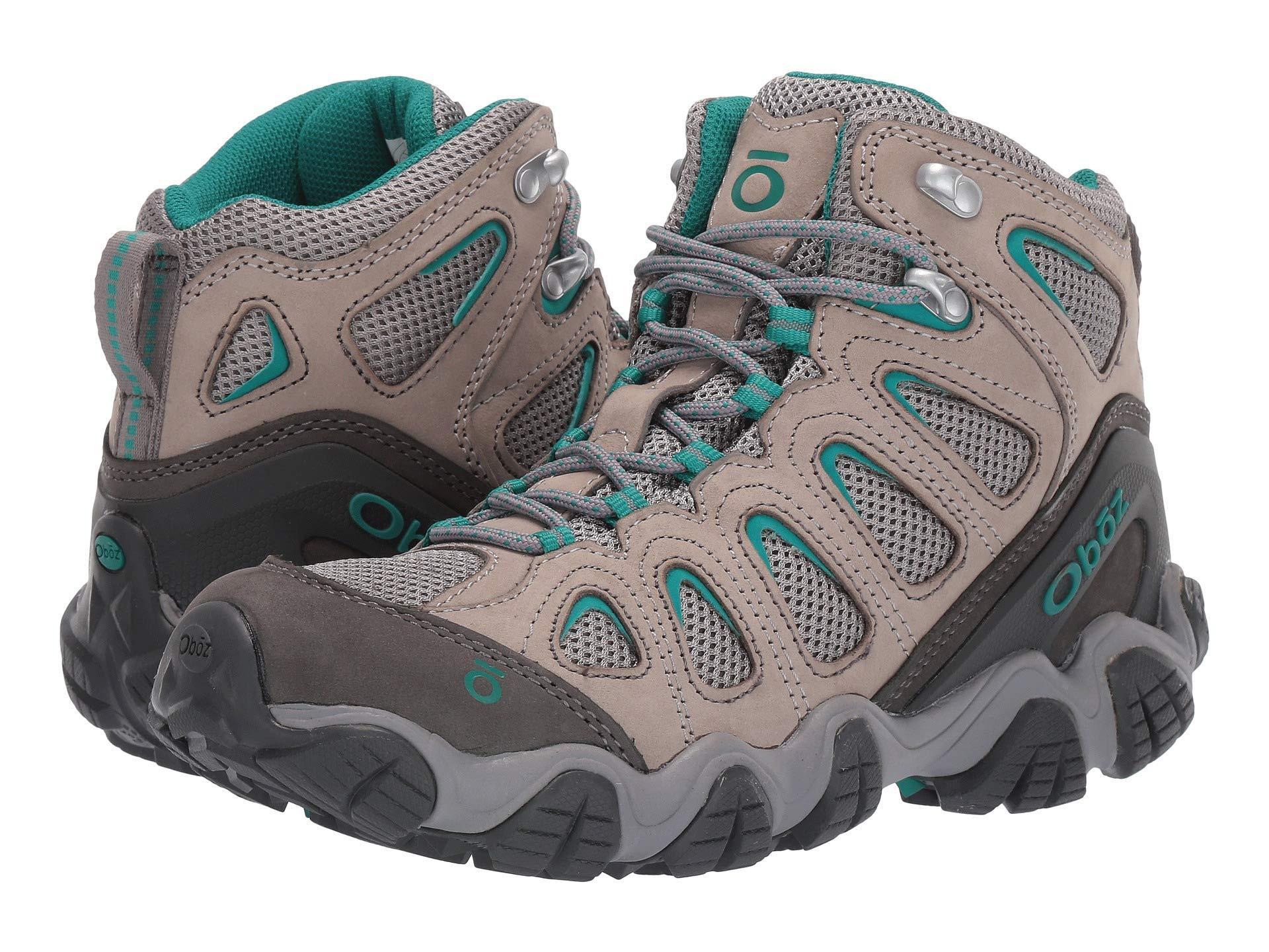 a2172554346 Lyst - Obōz Sawtooth Ii Mid (drizzle/aqua) Women's Shoes