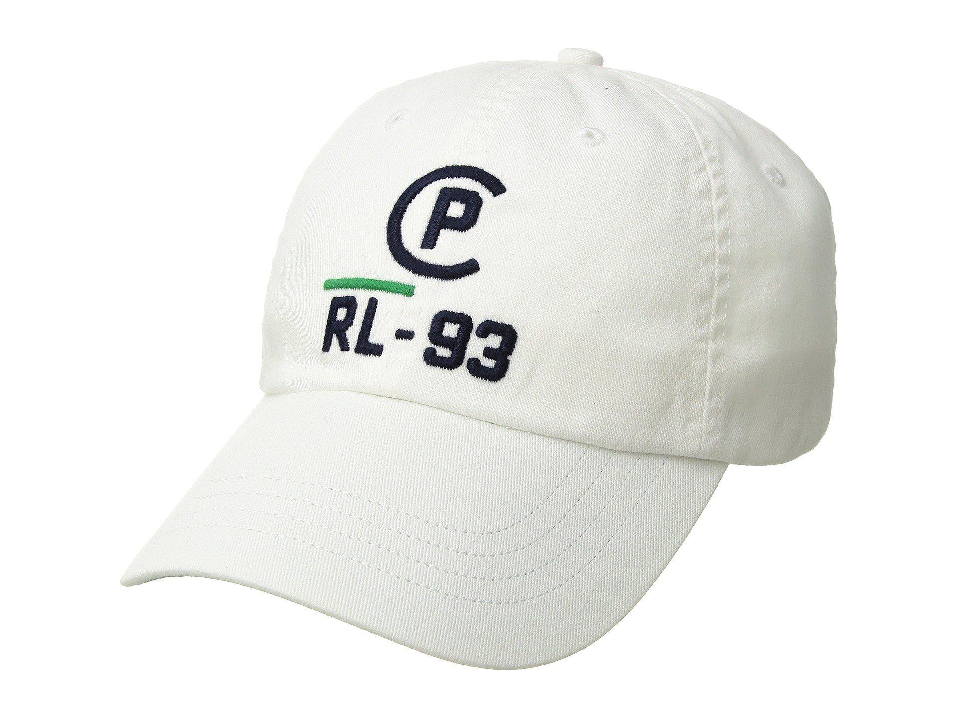 ec2bfc95095 Lyst - Polo Ralph Lauren Cp-93 Cotton Chino Classic Sport Cap (white ...