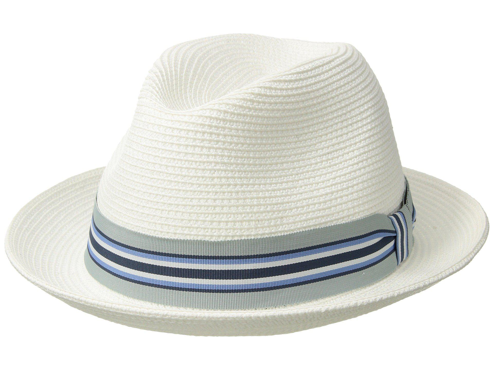 Lyst - Bailey of Hollywood Salem (driftwood) Caps in White for Men 5c21ca598d05