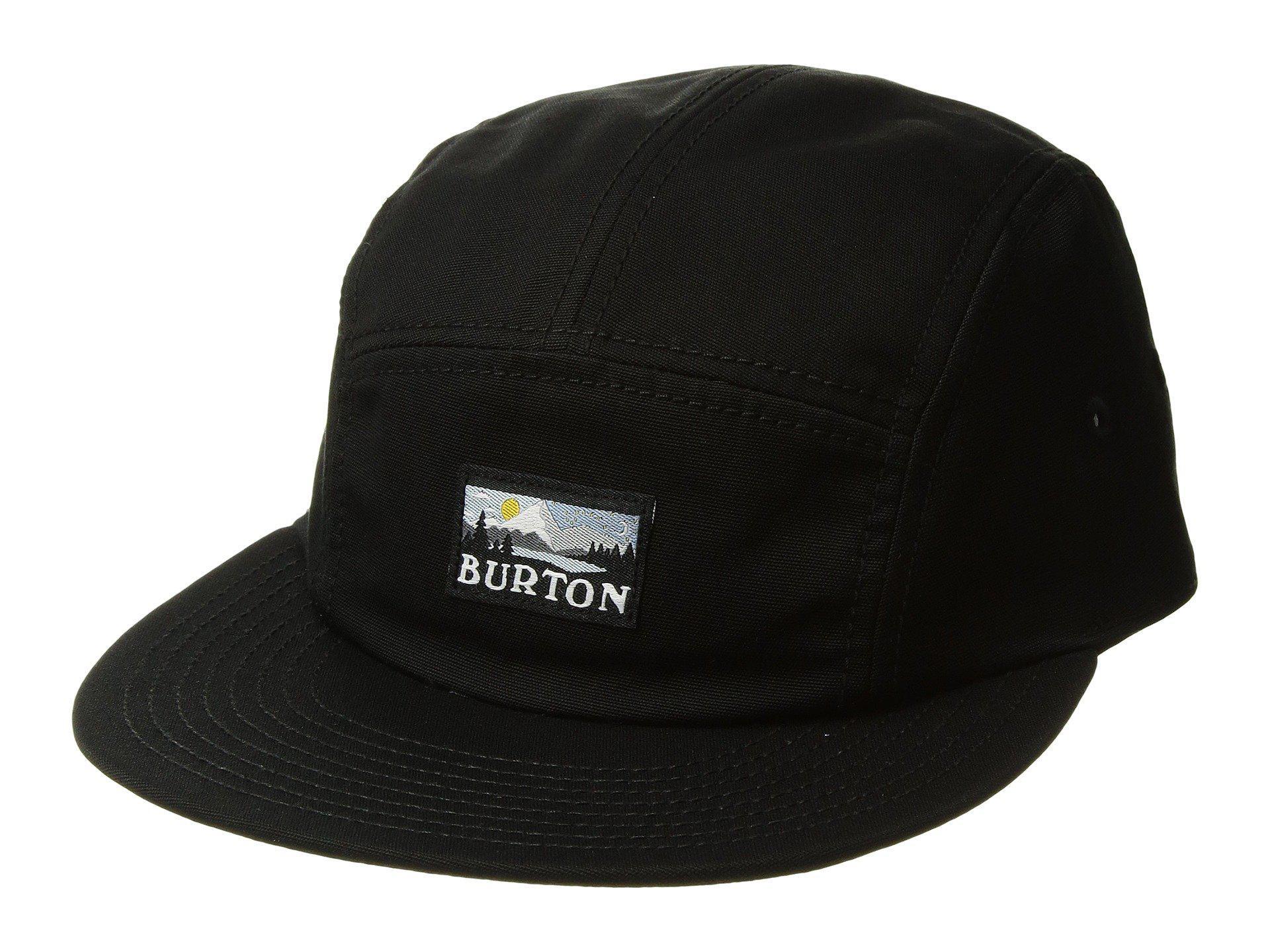 35edabdf6be Lyst - Burton Cordova 5 Panel Hat in Black for Men