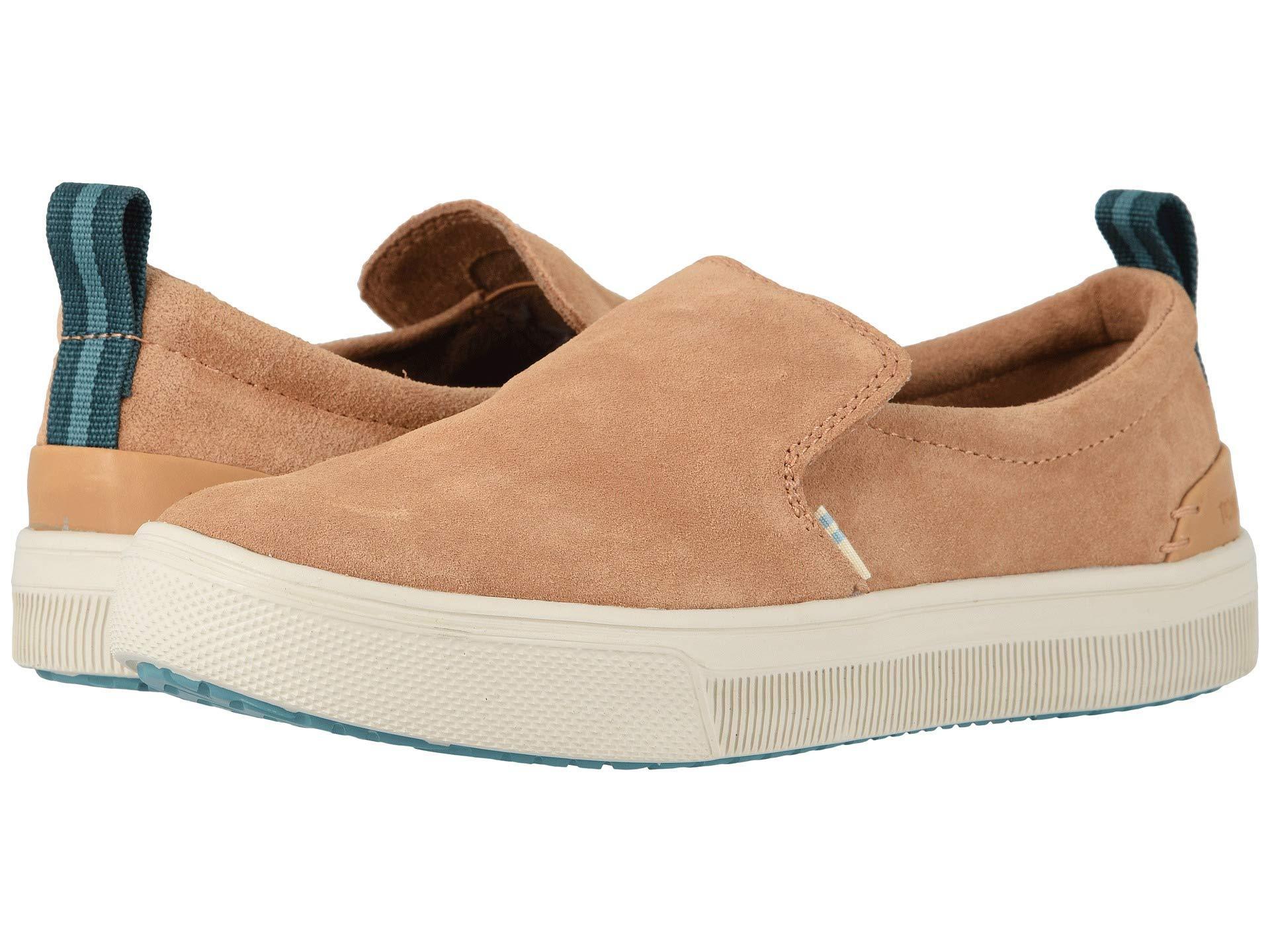 38c777f792f Lyst - TOMS Trvl Lite Slip-on (honey Suede) Women s Shoes