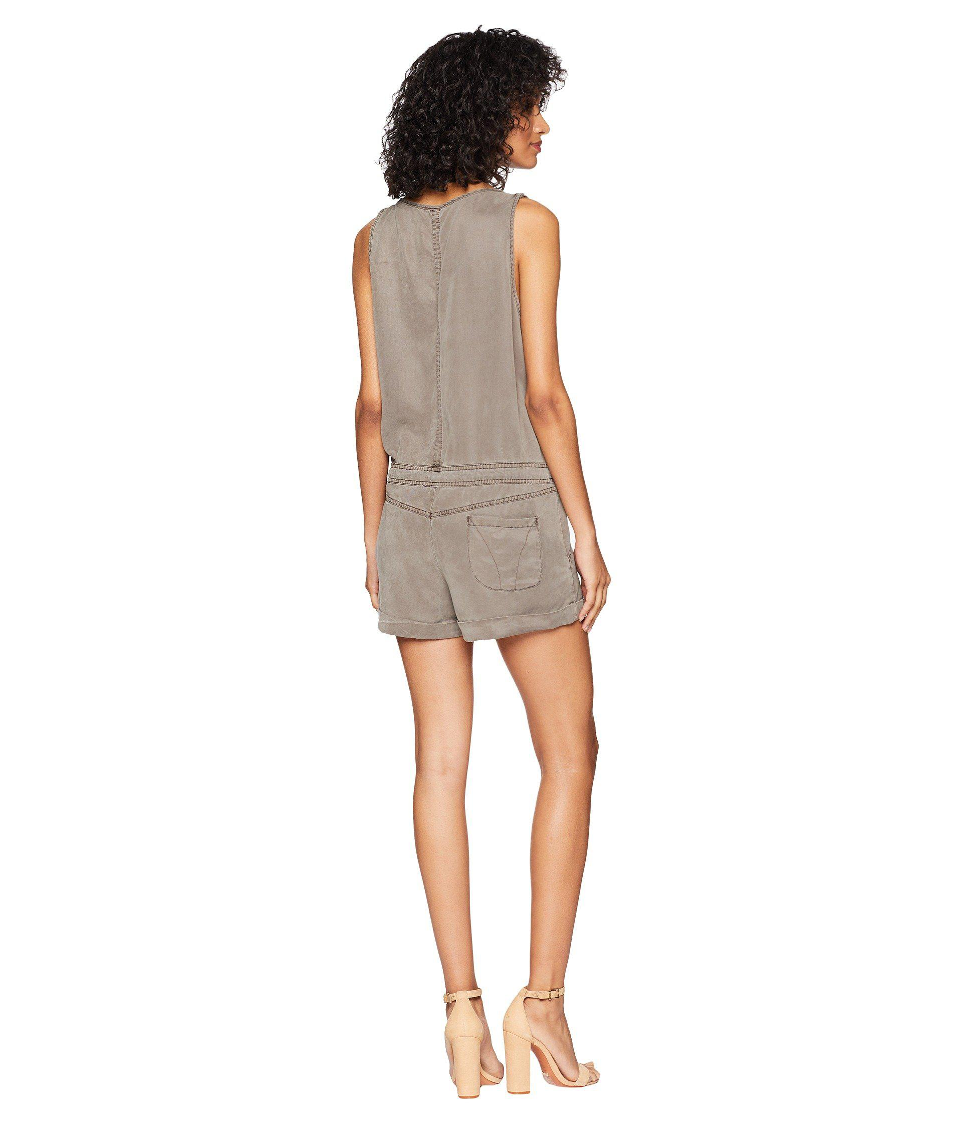 a5f2be808739 Lyst - Young Fabulous   Broke Cliff Romper (clay) Women s Jumpsuit ...