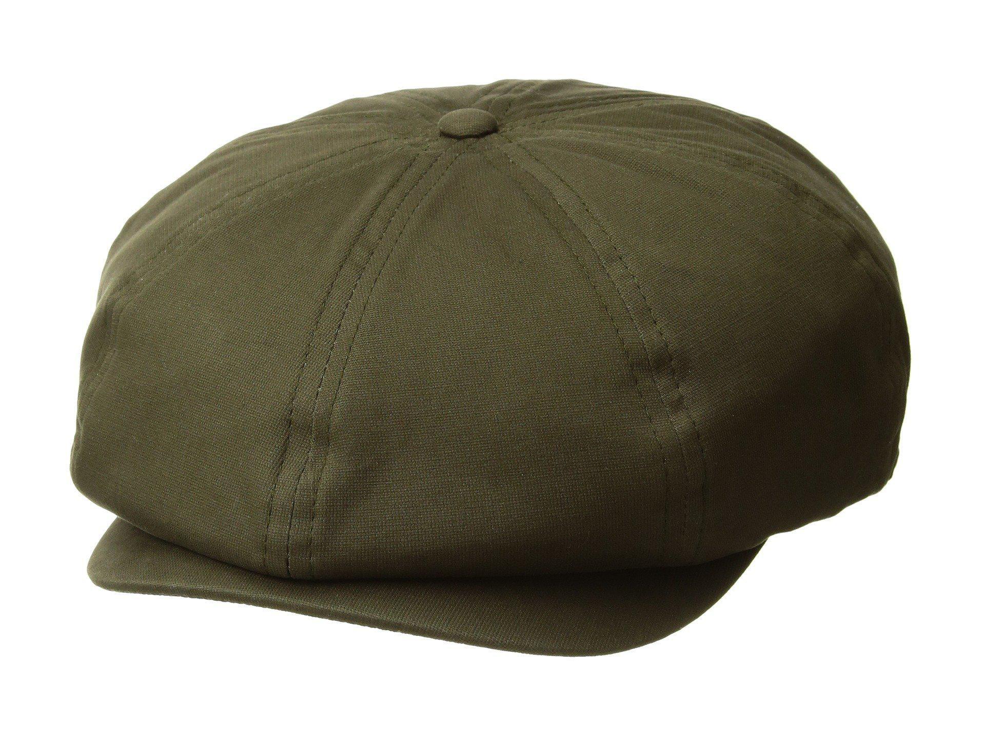 940d9e47a12 Lyst - Brixton Brood Snap Cap (black Herringbone Twill) Caps in ...