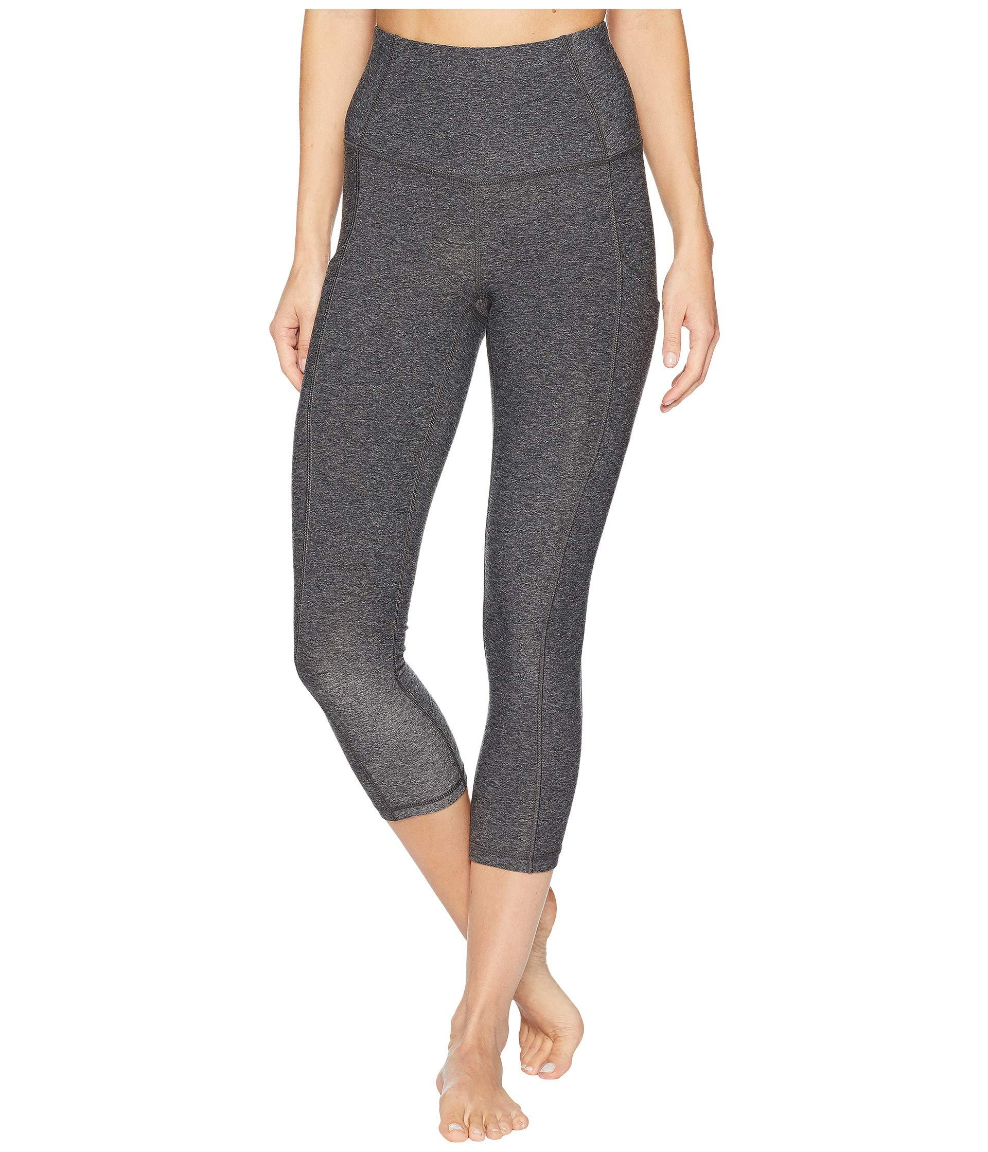 245ee7f9b77 Lyst - The North Face Motivation High-rise Pocket Crop Pants (tnf ...
