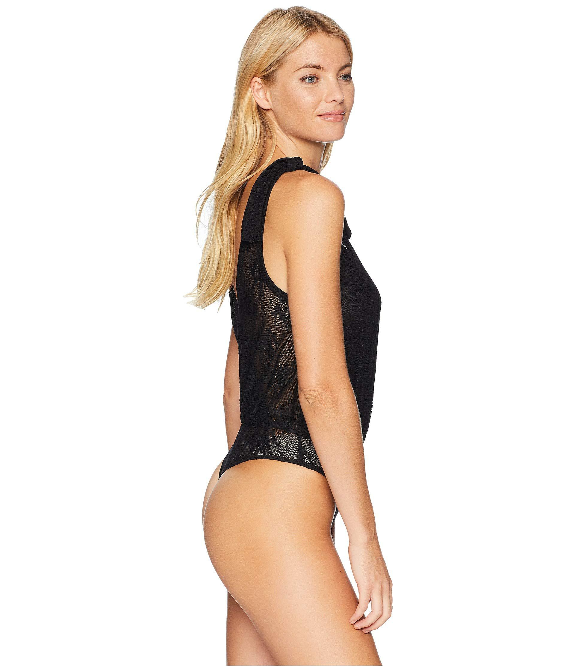 810318a66c68 ... Lace All Day Bodysuit (black) Women s Jumpsuit   Rompers One Piece.  View fullscreen