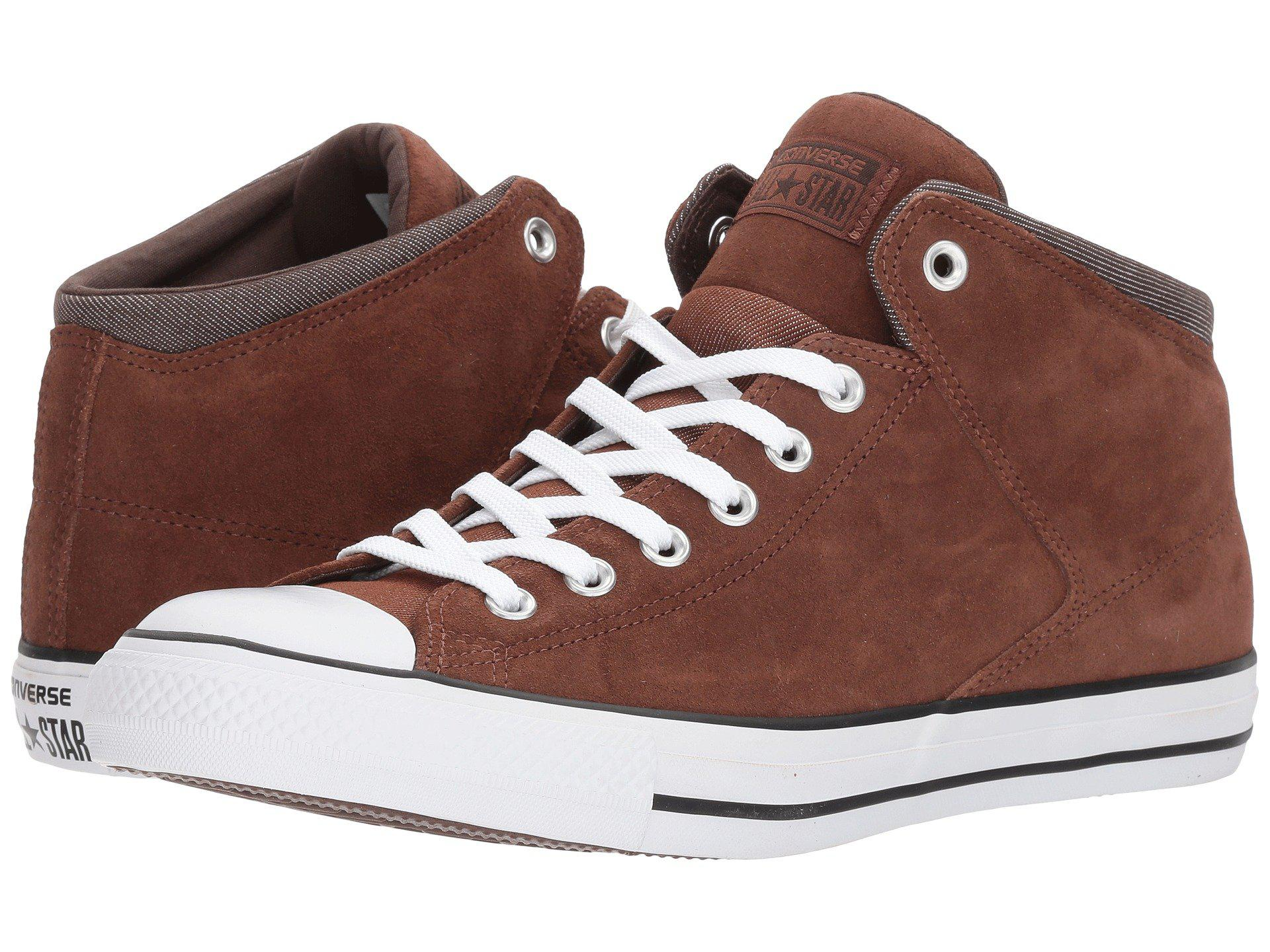 Converse  Men's Brown Chuck Taylor? All Star? High Street Thermal Suede Hi