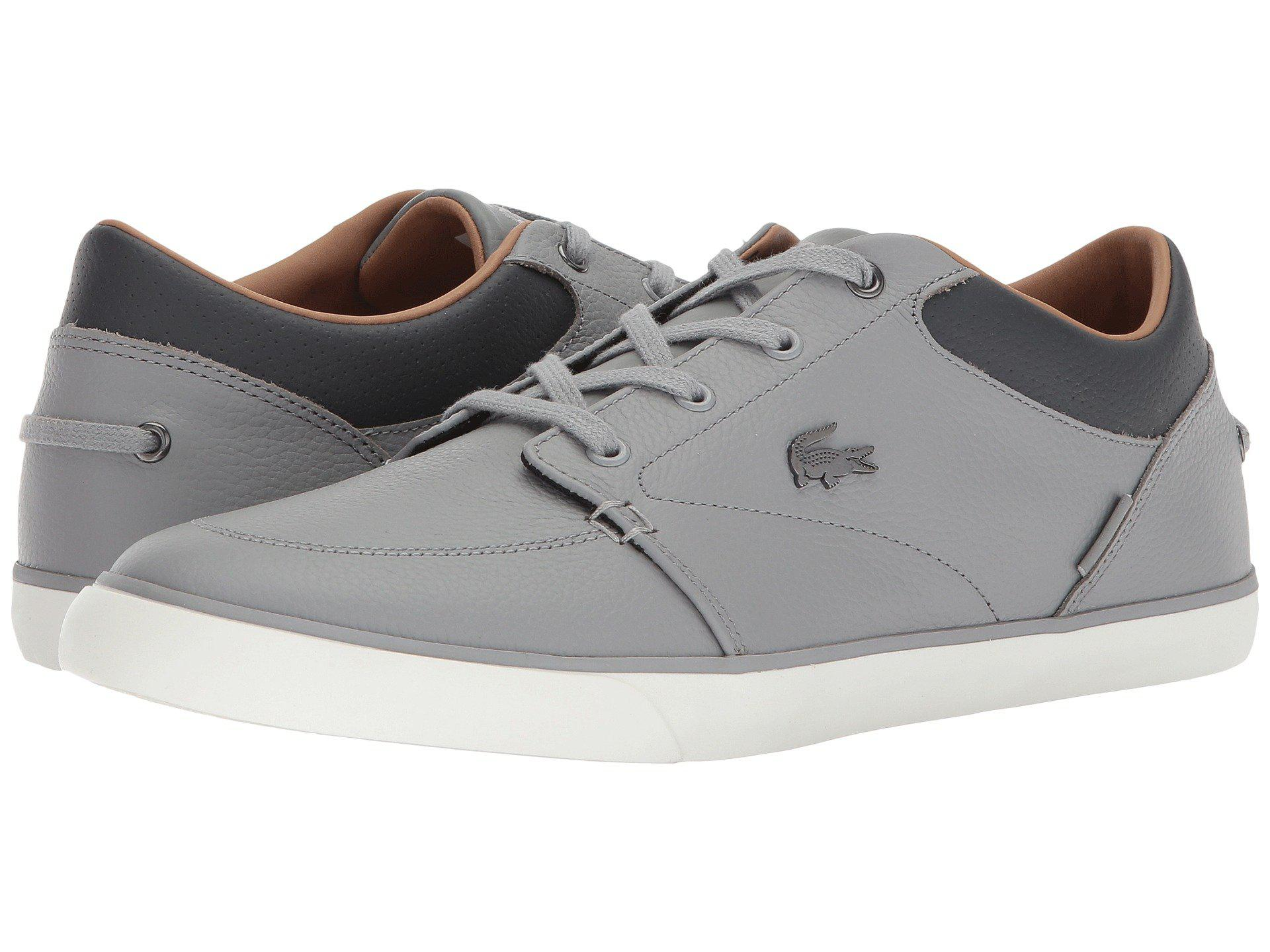 6cd931911 Lyst - Lacoste Bayliss 118 1 (navy off-white) Men s Shoes in Gray ...