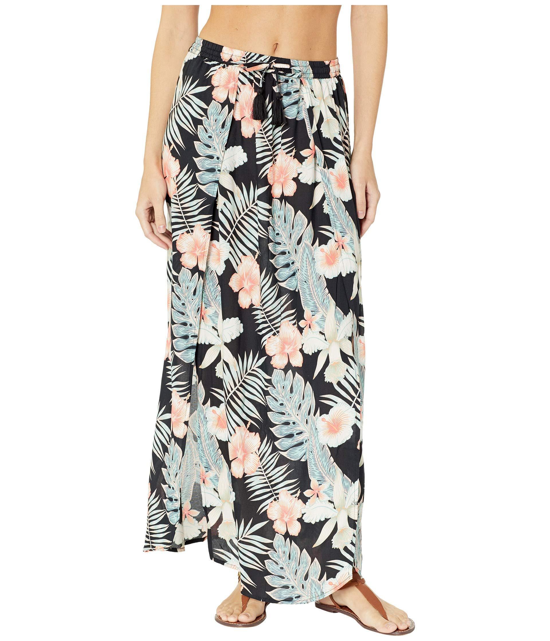fdf49777d6 Roxy. Desert Garden Skirt Cover-up (anthracite Tropicalababa) Women s  Swimwear