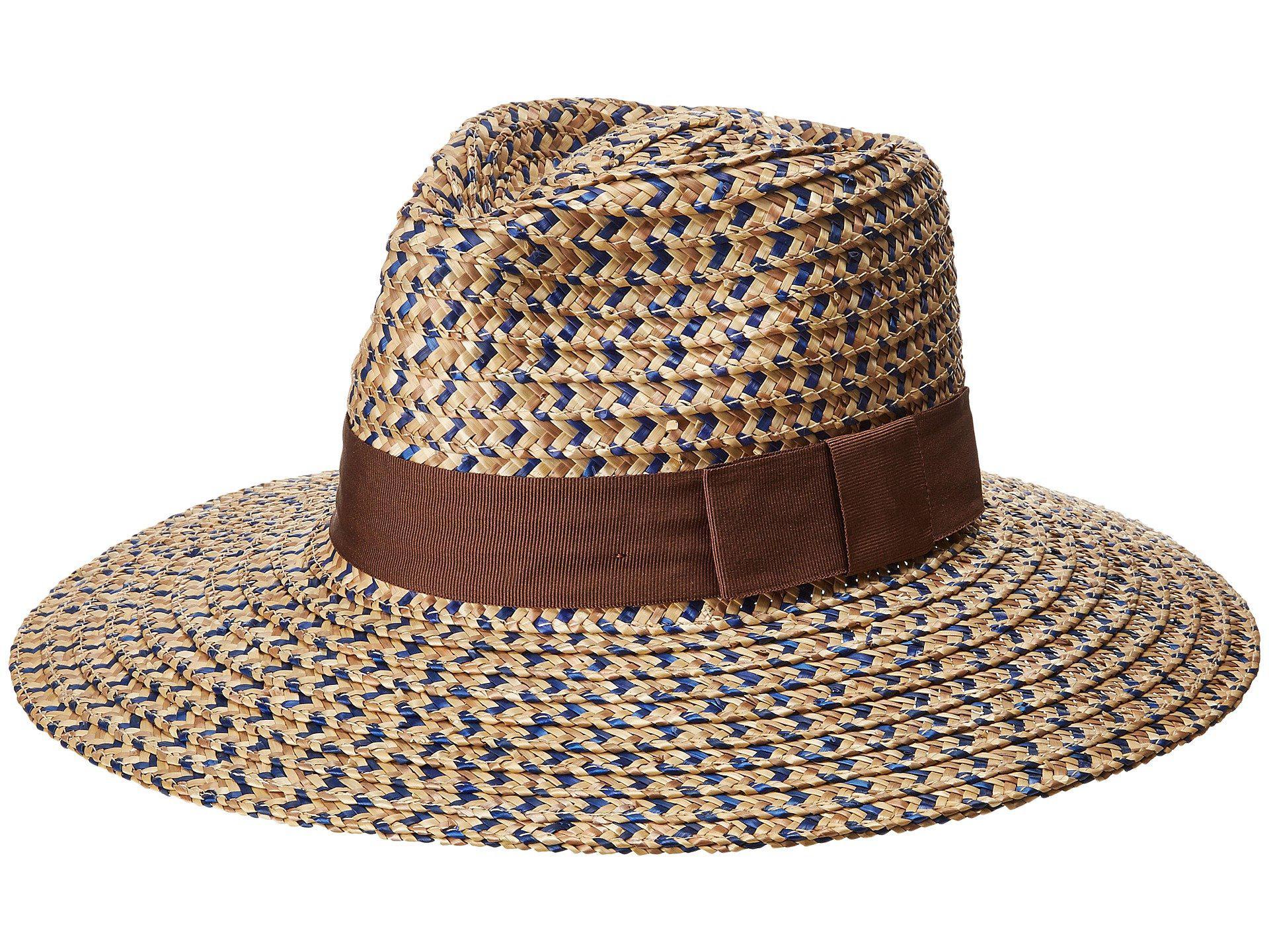 6c3039e5b02 Lyst - Brixton Joanna Hat (bronze olive tan) Caps in Brown
