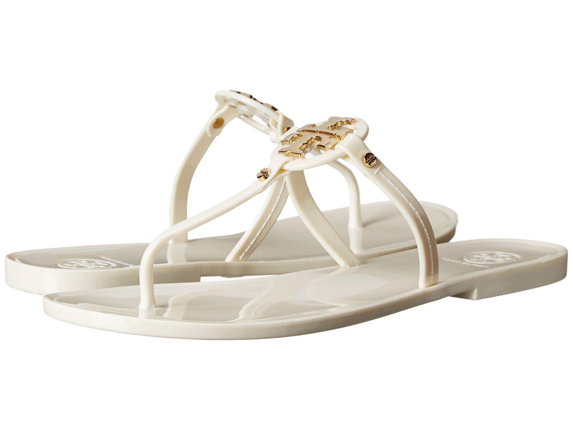 083eba8c9 Lyst - Tory Burch Mini Miller Flat Thong (rose Gold) Women s Sandals ...