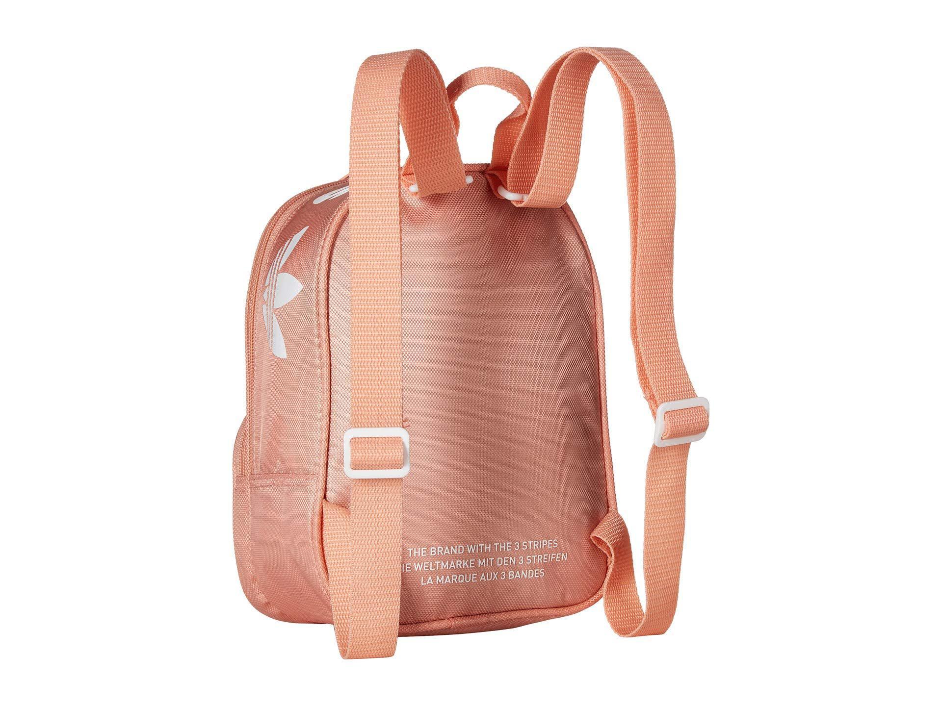 Lyst - adidas Originals Originals Santiago Mini Backpack (dust Pink ... 1cd72634cde9c