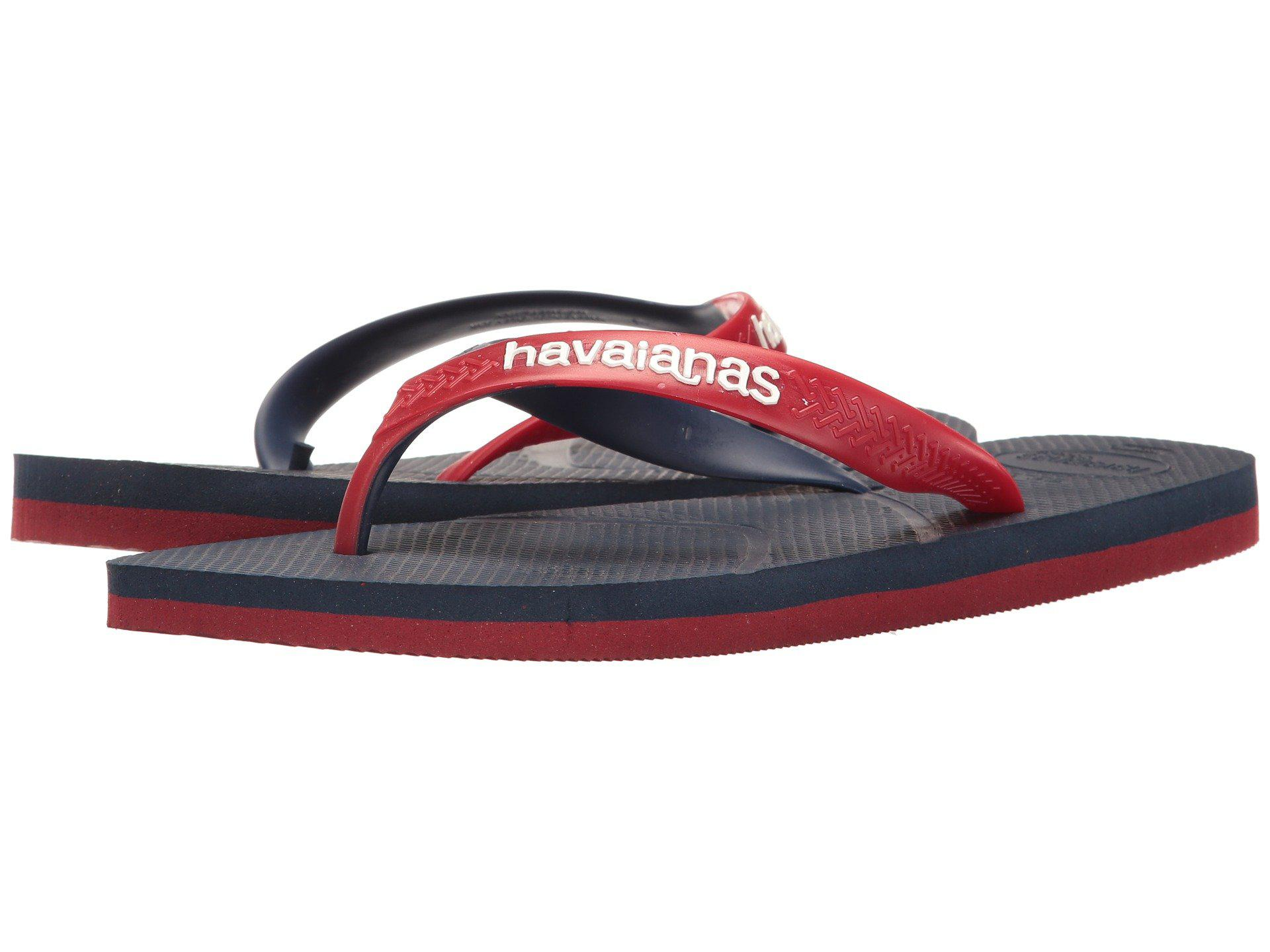 0dae8f684bff61 Lyst - Havaianas Casual Flip Flops (steel Grey black) Men s Sandals ...