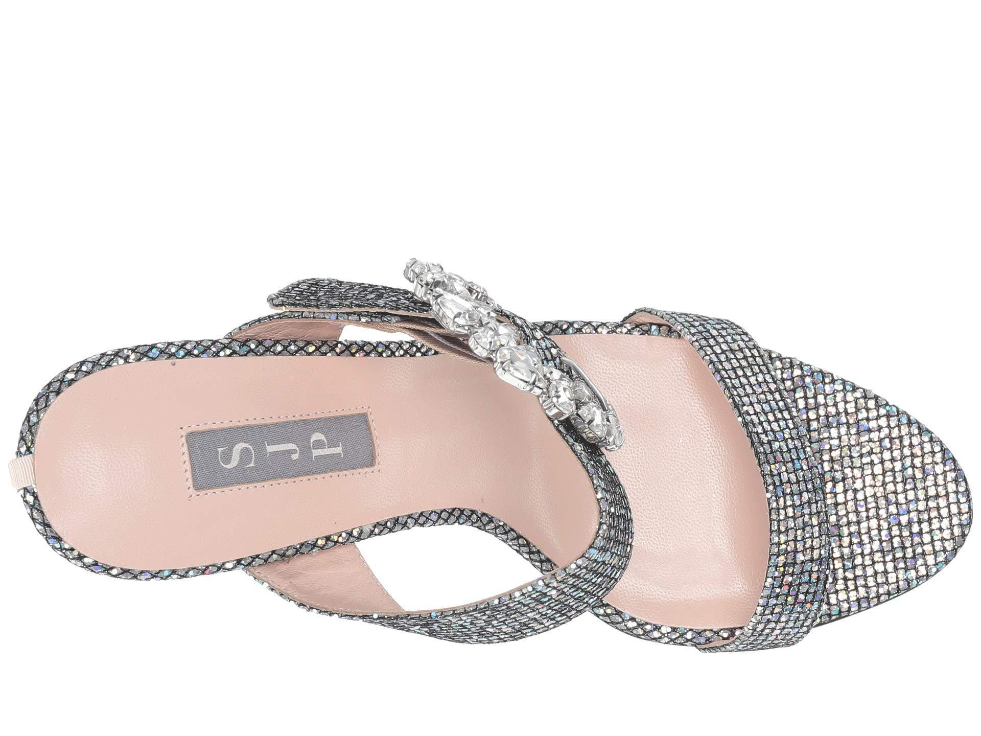 813d36d2f3a SJP by Sarah Jessica Parker - Metallic Celia (silver Satin) Women s Shoes -  Lyst. View fullscreen