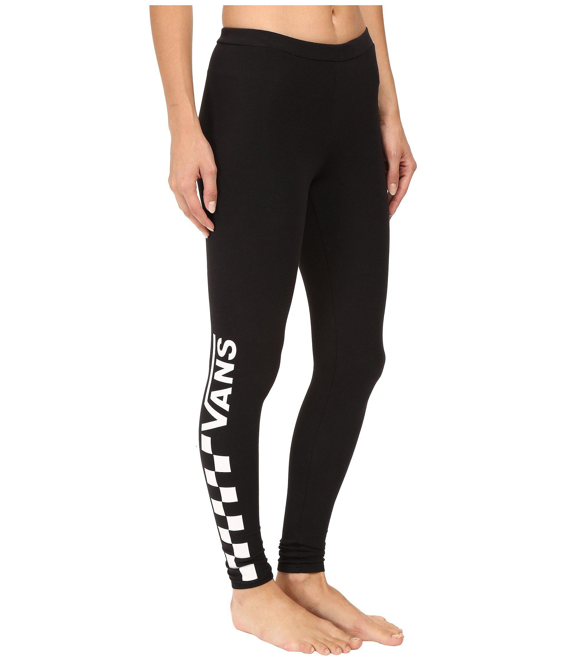 3967fdba04 Lyst - Vans Chalkboard Leggings in Black