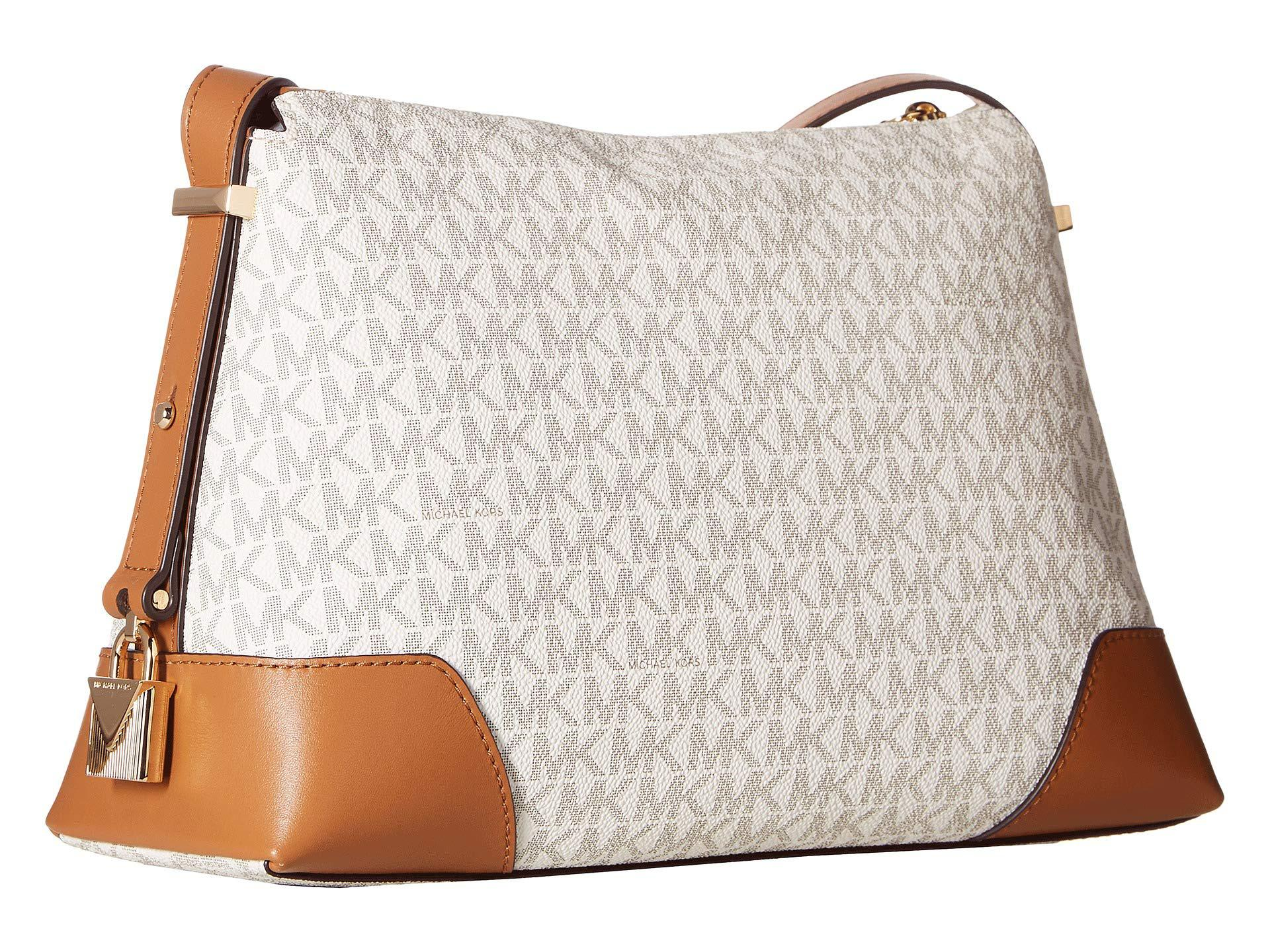 c95896f010db MICHAEL Michael Kors - Multicolor Crosby Medium Messenger (vanilla acorn)  Cross Body Handbags. View fullscreen