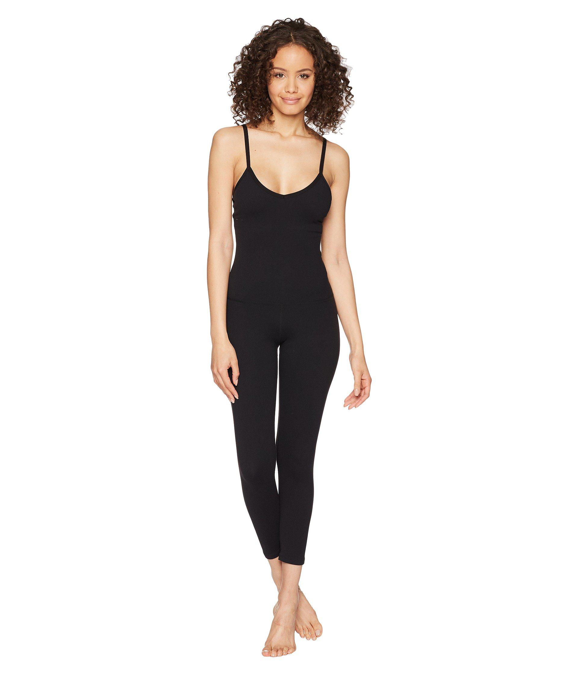 59c02a7c726 Lyst - Beyond Yoga Levels Bodysuit (jet Black) Women s Jumpsuit ...