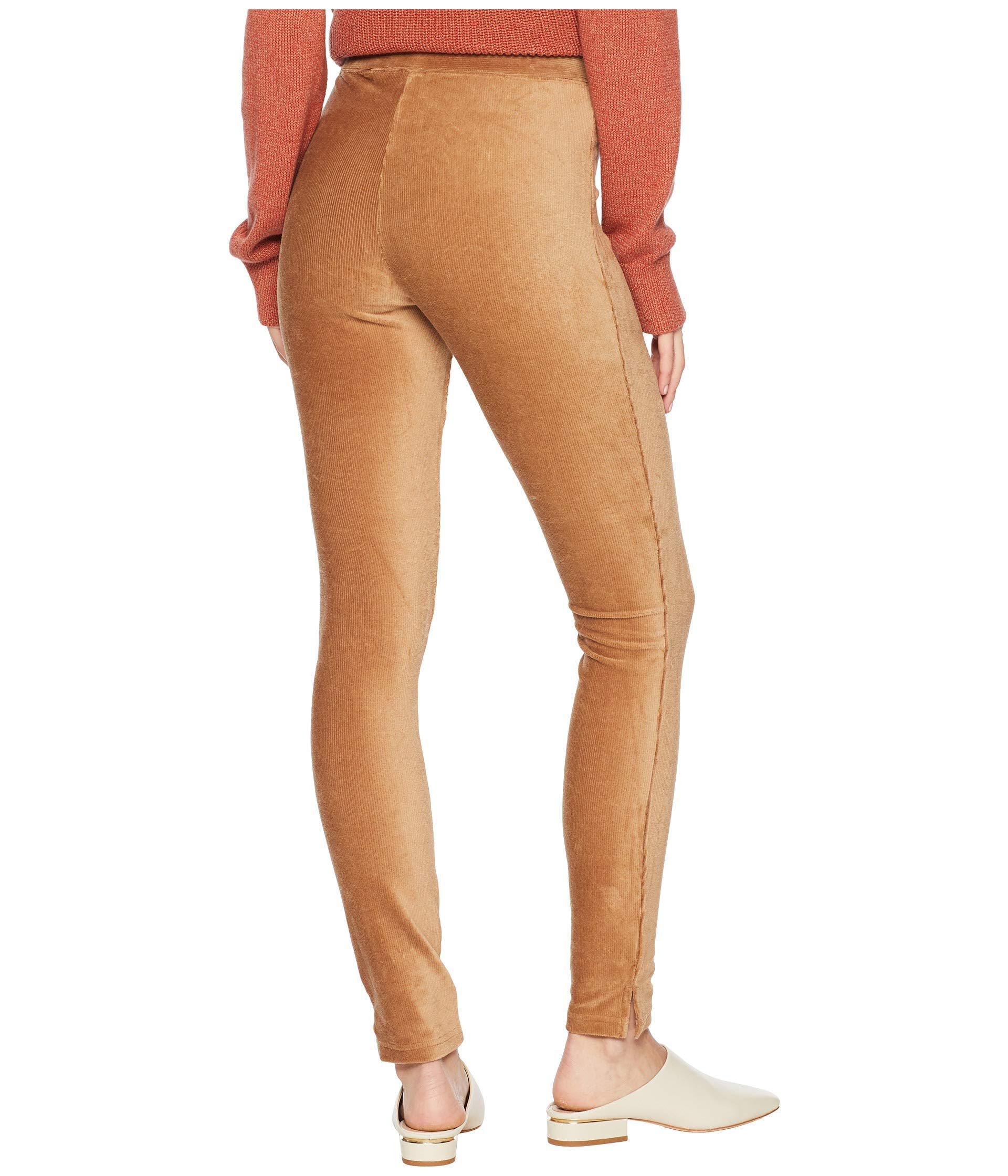 b903f5faf60acc Hue - Multicolor Plus Size High-waist Corduroy Leggings (caramel) Women's  Casual Pants. View fullscreen
