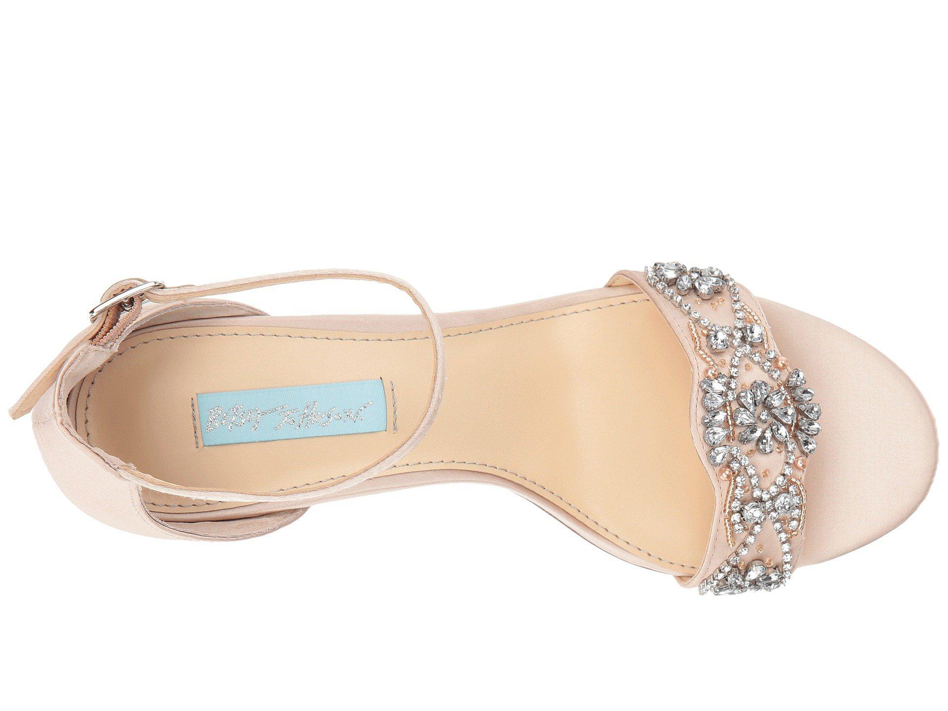 152dd9952d4b Betsey Johnson - Multicolor Mel (champagne) High Heels - Lyst. View  fullscreen
