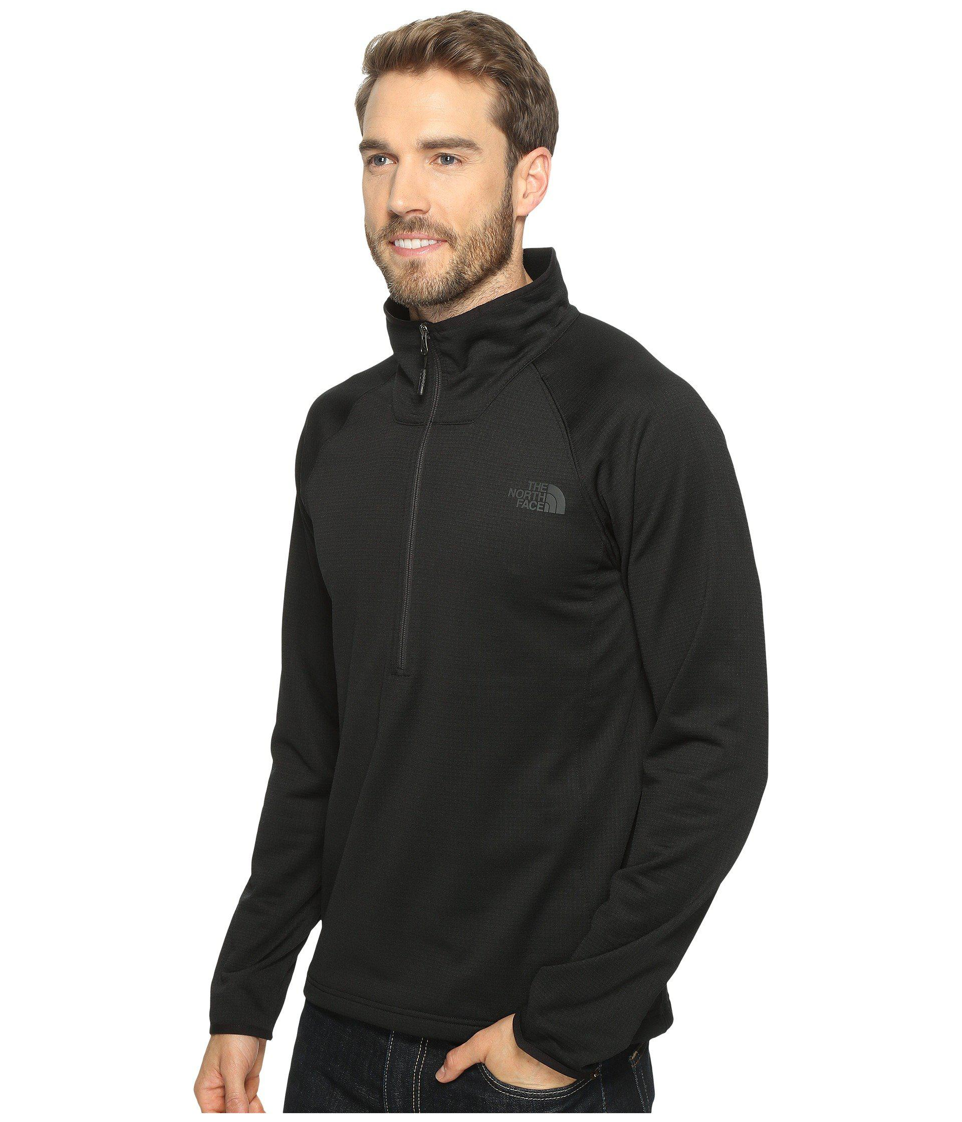 5f4fbb40a Lyst - The North Face Borod 1/4 Zip in Black for Men