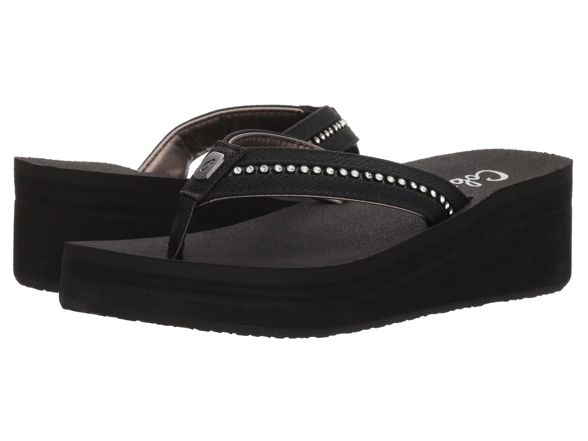 52748e7c4 Lyst - Cobian Tiffany Ii (gold) Women s Sandals in Black