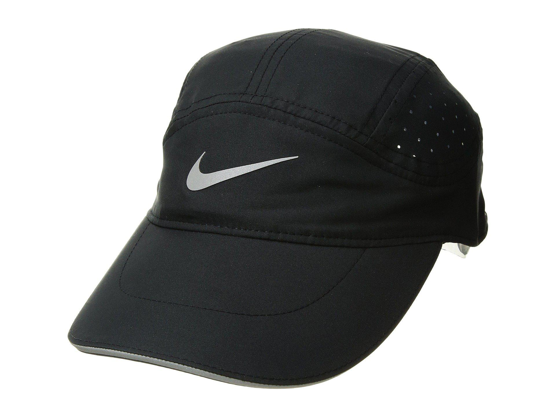 3c74a452 Nike Aerobill Running Cap (black/black) Caps in Black for Men - Lyst