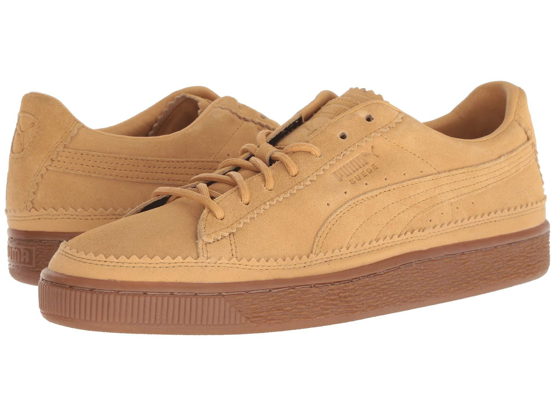 83bfd50b3c93c6 Lyst - PUMA Suede Classic Brogue (taffy taffy) Men s Lace Up Casual ...