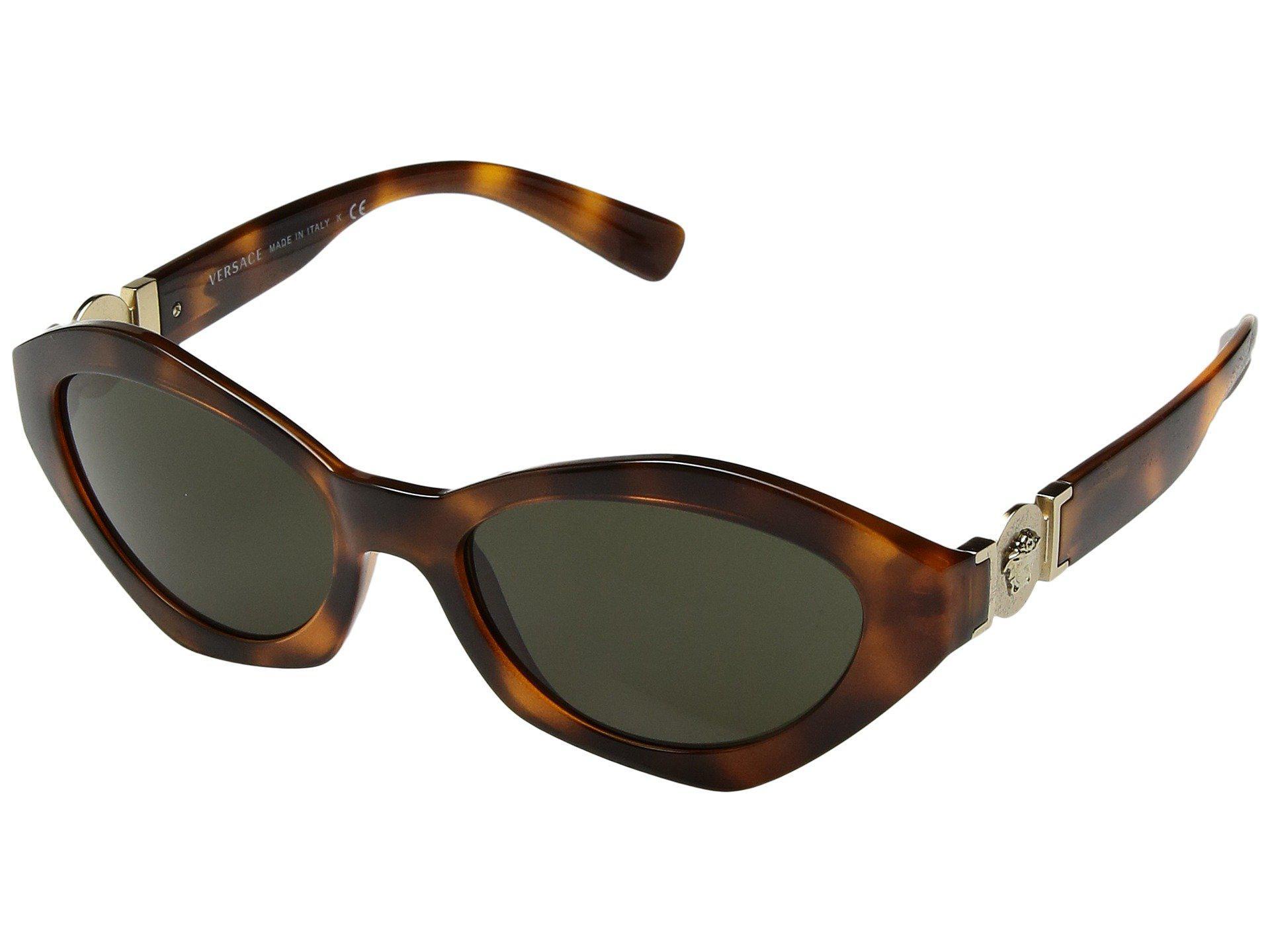 e3e03db5604d Lyst - Versace Ve4334 (havana/green) Fashion Sunglasses