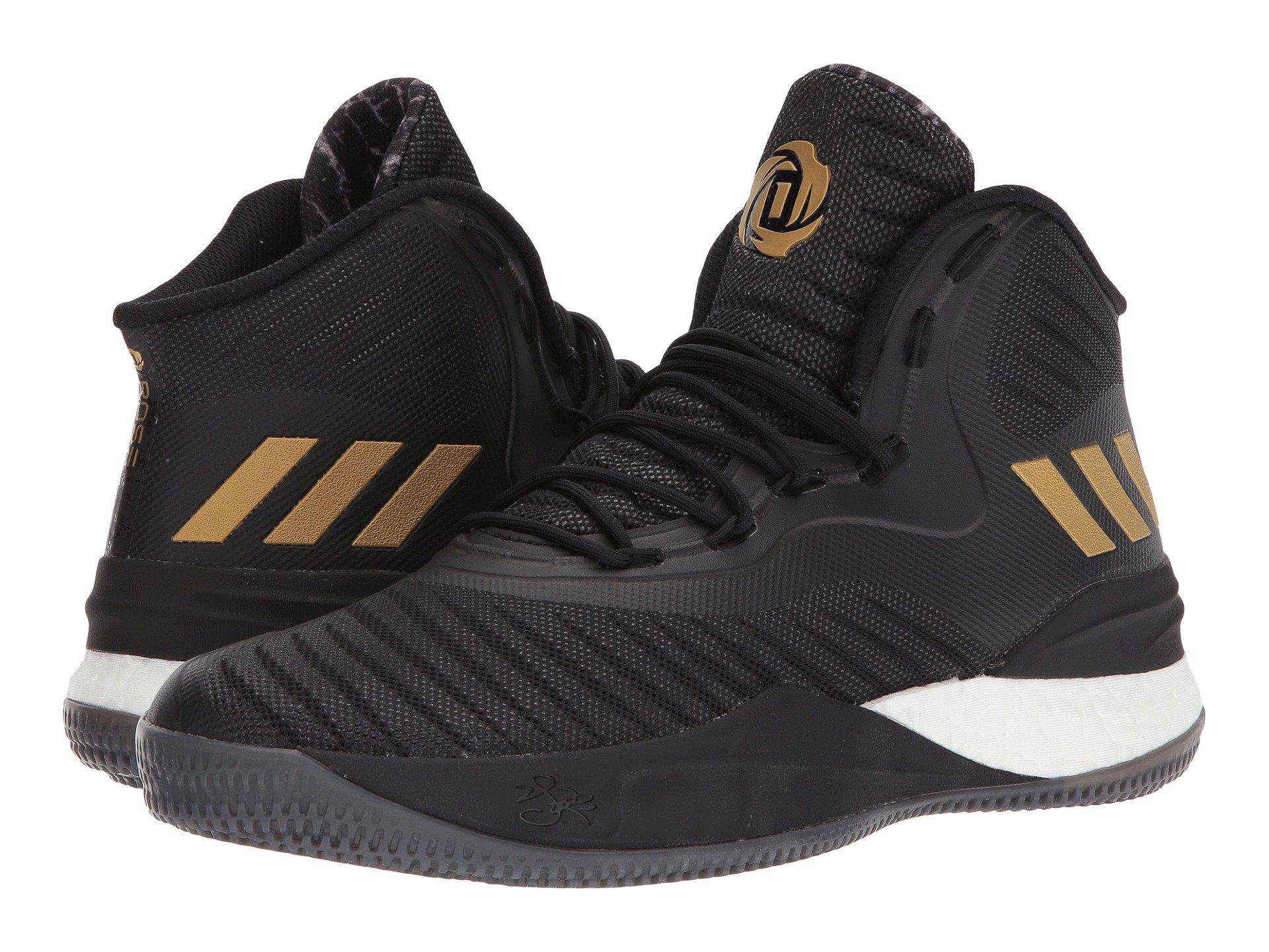 cad97cfd3474 adidas D Rose 8 in Black for Men - Lyst
