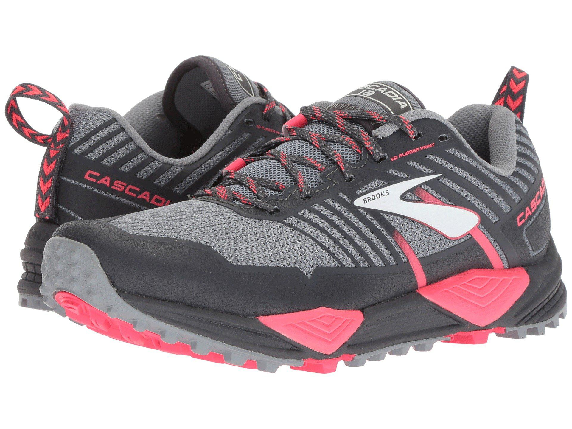 49cba4c3ccf Brooks - Gray Cascadia 13 (ink navy pink) Women s Running Shoes -. View  fullscreen
