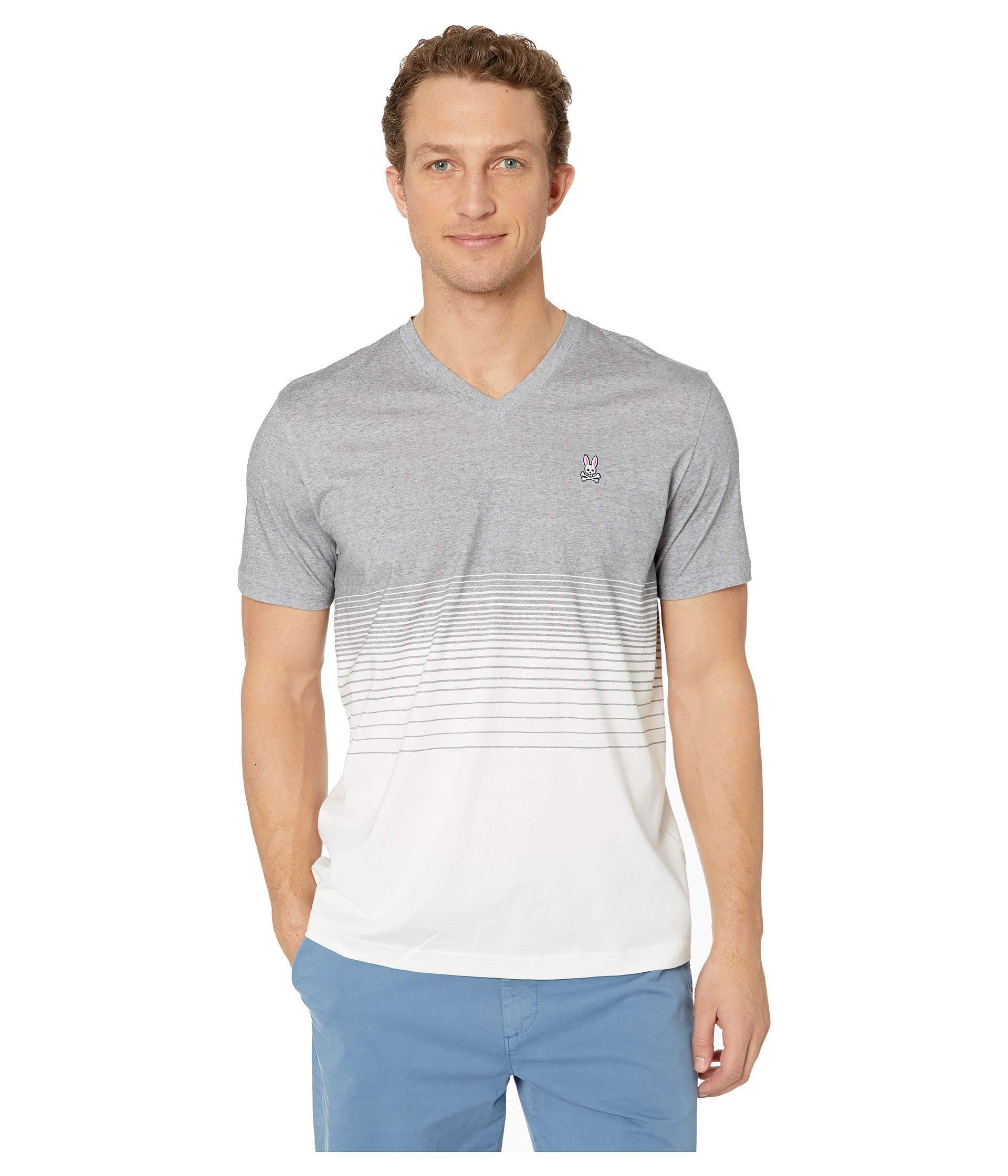 5df8821699b Lyst - Psycho Bunny Warrington T-shirt (heather Grey) Men s T Shirt ...