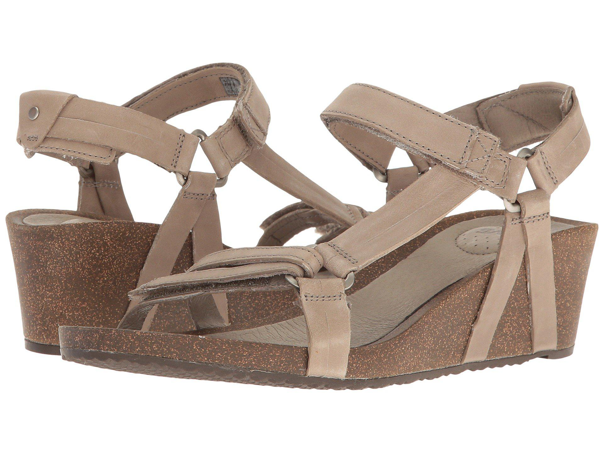 8556a2733a30 Lyst - Teva Ysidro Universal Wedge (taupe) Women s Wedge Shoes in Brown